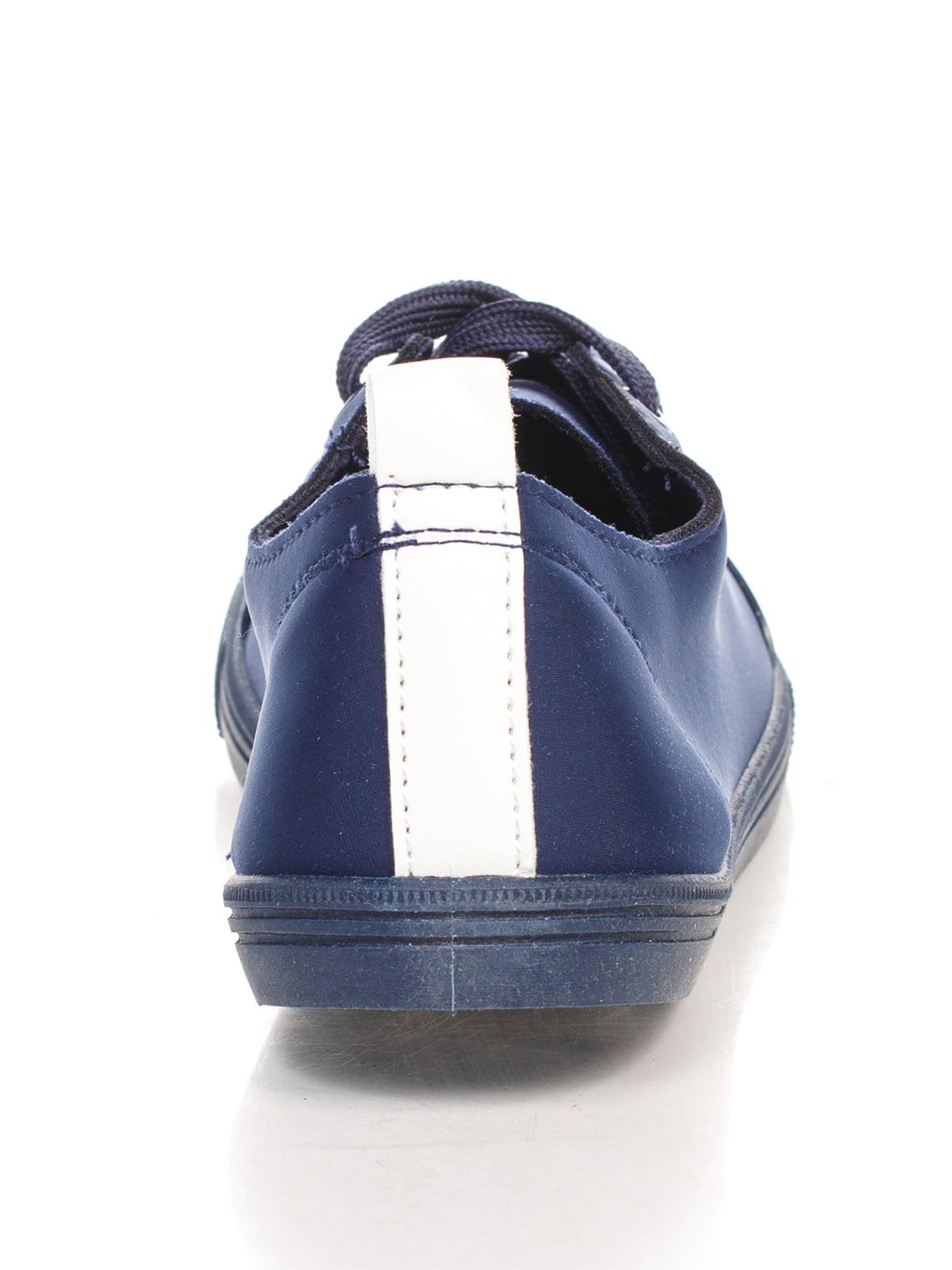 Кеды синие   4603076   фото 3