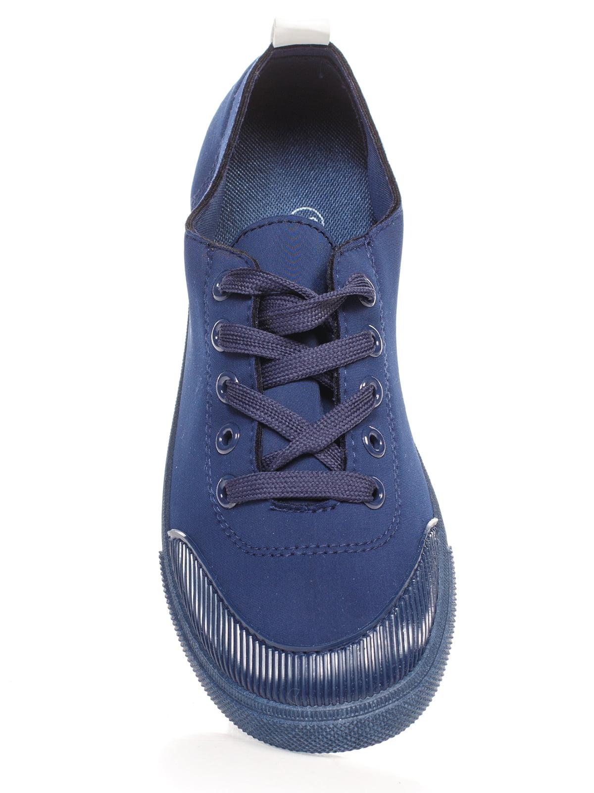 Кеды синие   4603076   фото 4