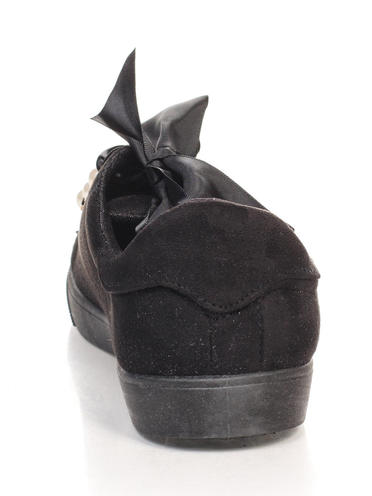 Кеды черные | 4603089 | фото 3
