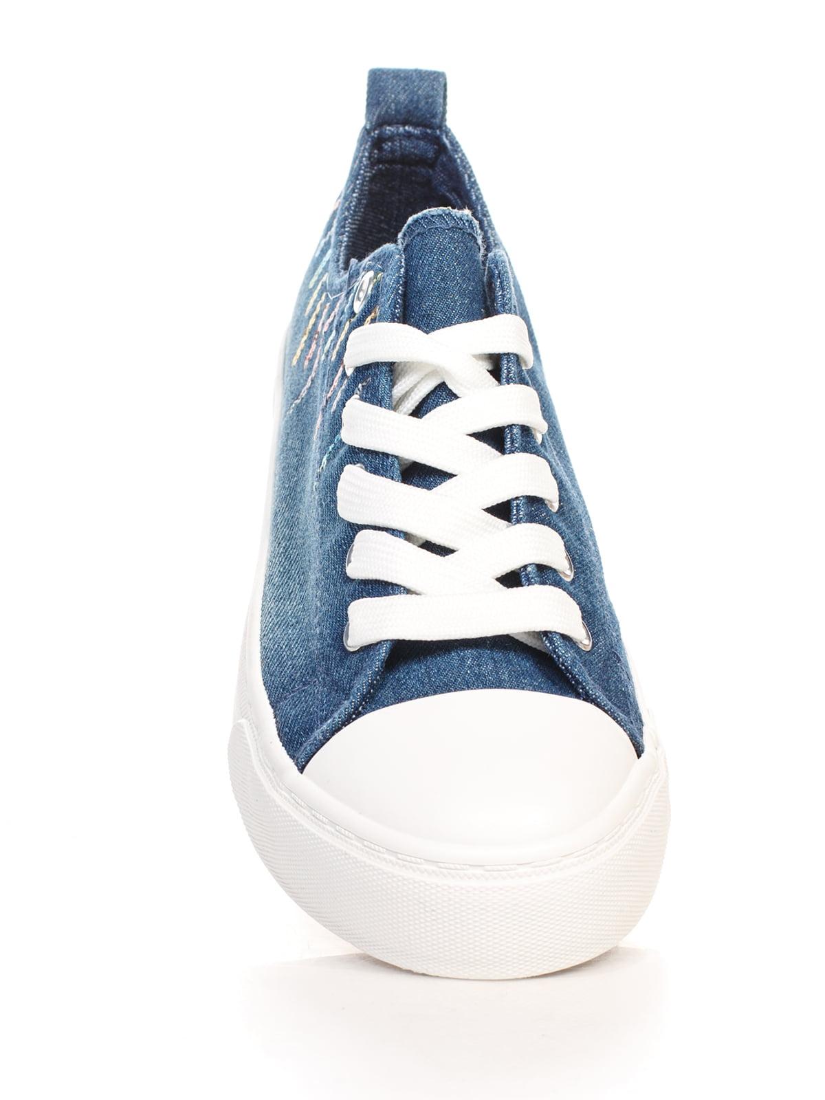 Кеды синие | 4603066 | фото 4