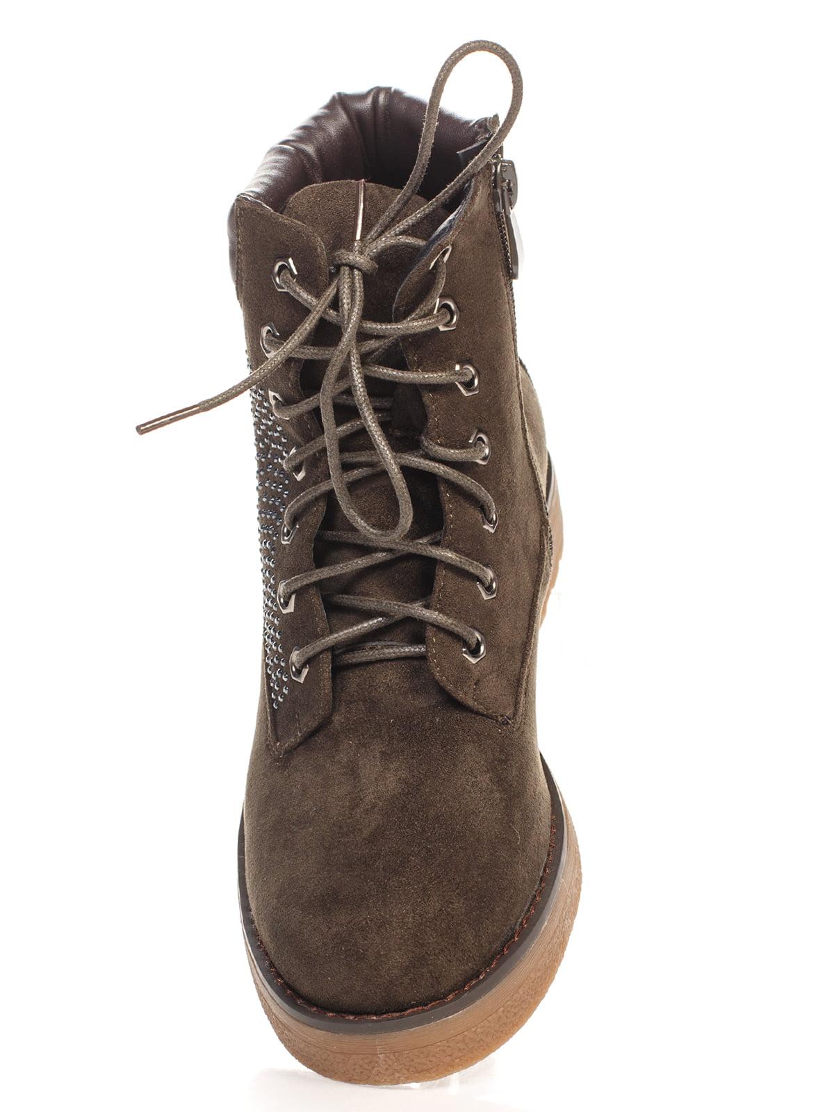 Ботинки черные | 4603007 | фото 4