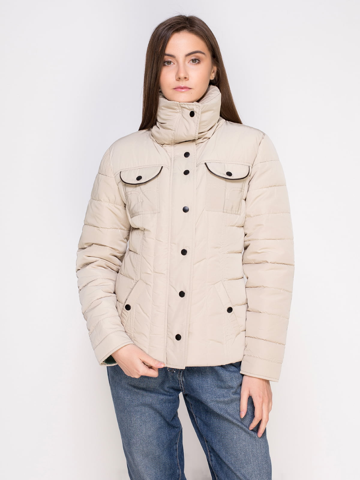 Куртка бежевая | 4506989