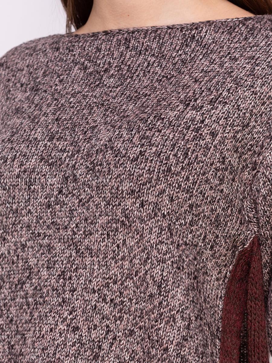 Джемпер чорно-рожевий | 4600870 | фото 3