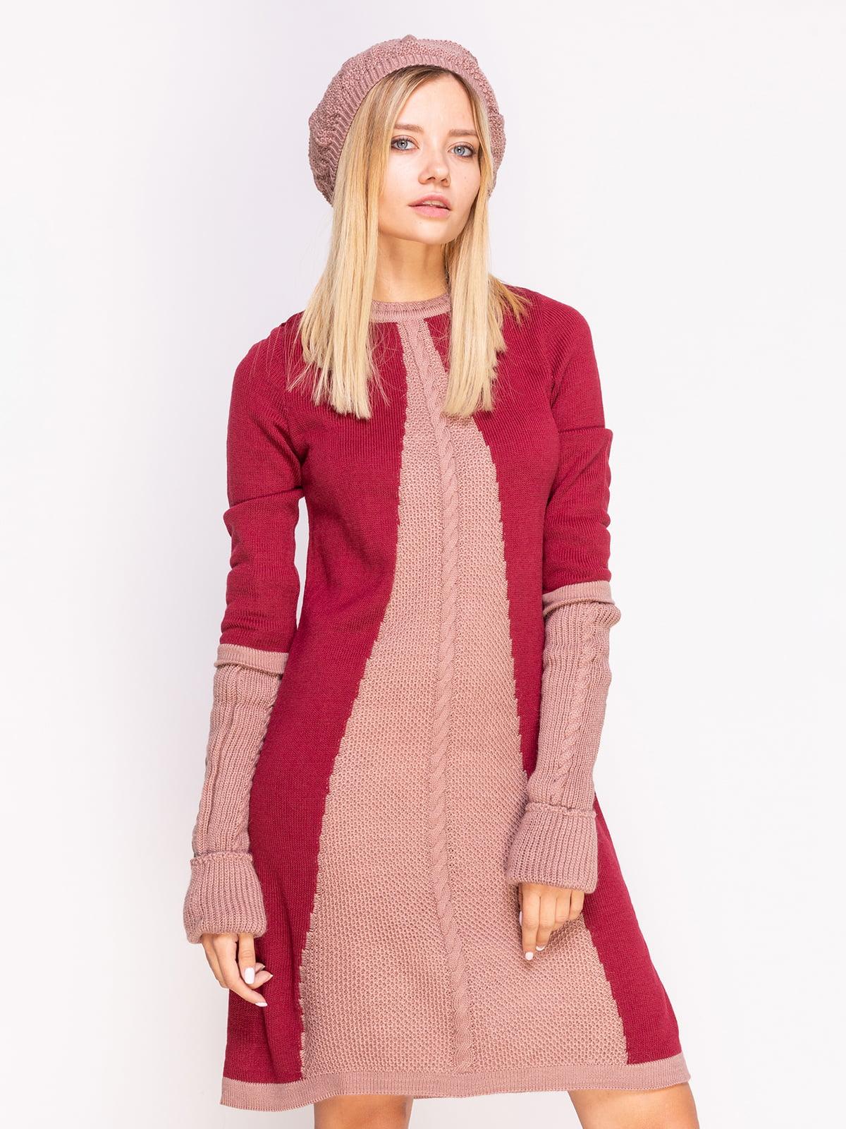 Комплект: сукня, берет і гетри   4600918