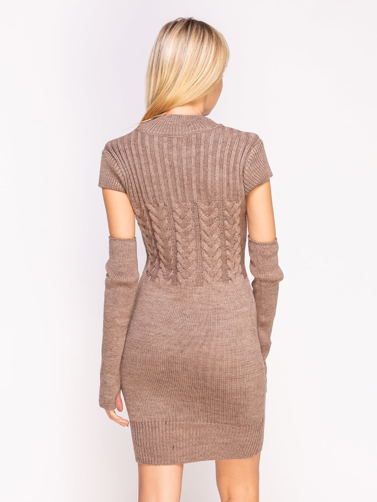 Сукня кольору капучино | 4600942 | фото 2