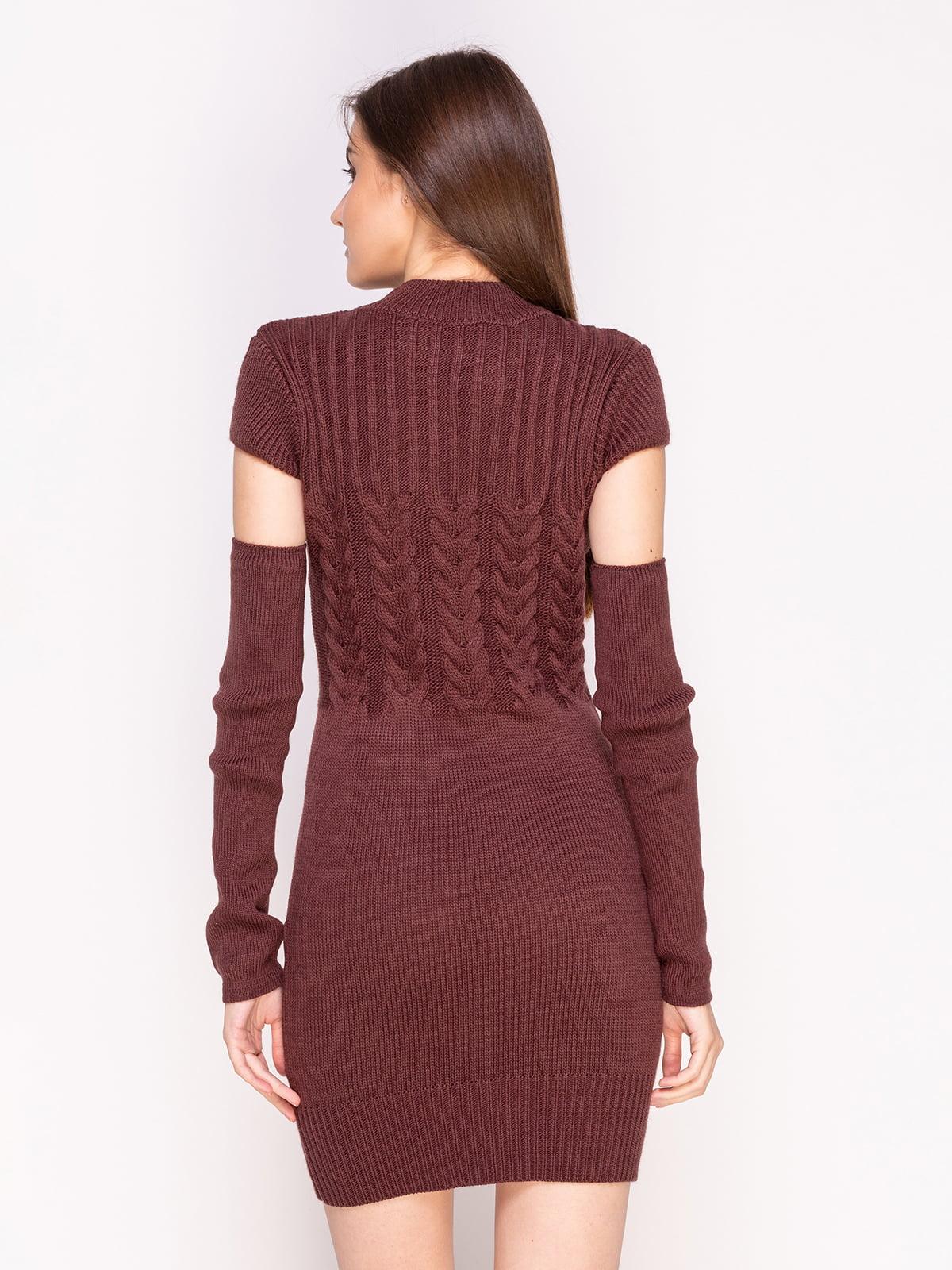Сукня кольору мокко | 4600944 | фото 2
