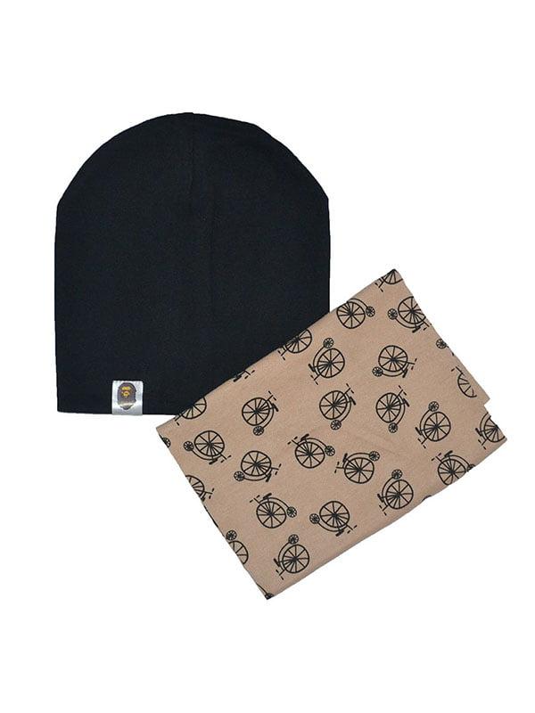 Комплект: шапка и шарф-снуд   4607116