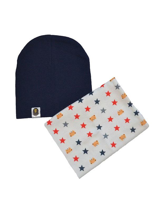 Комплект: шапка и шарф-снуд   4607139
