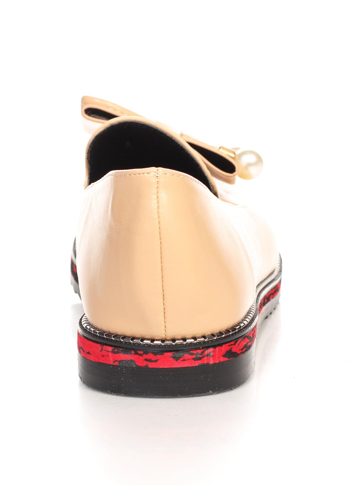 Туфли бежевые   4605887   фото 3
