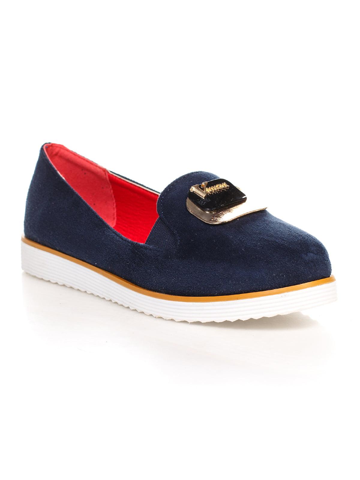 Туфли синие | 4605865