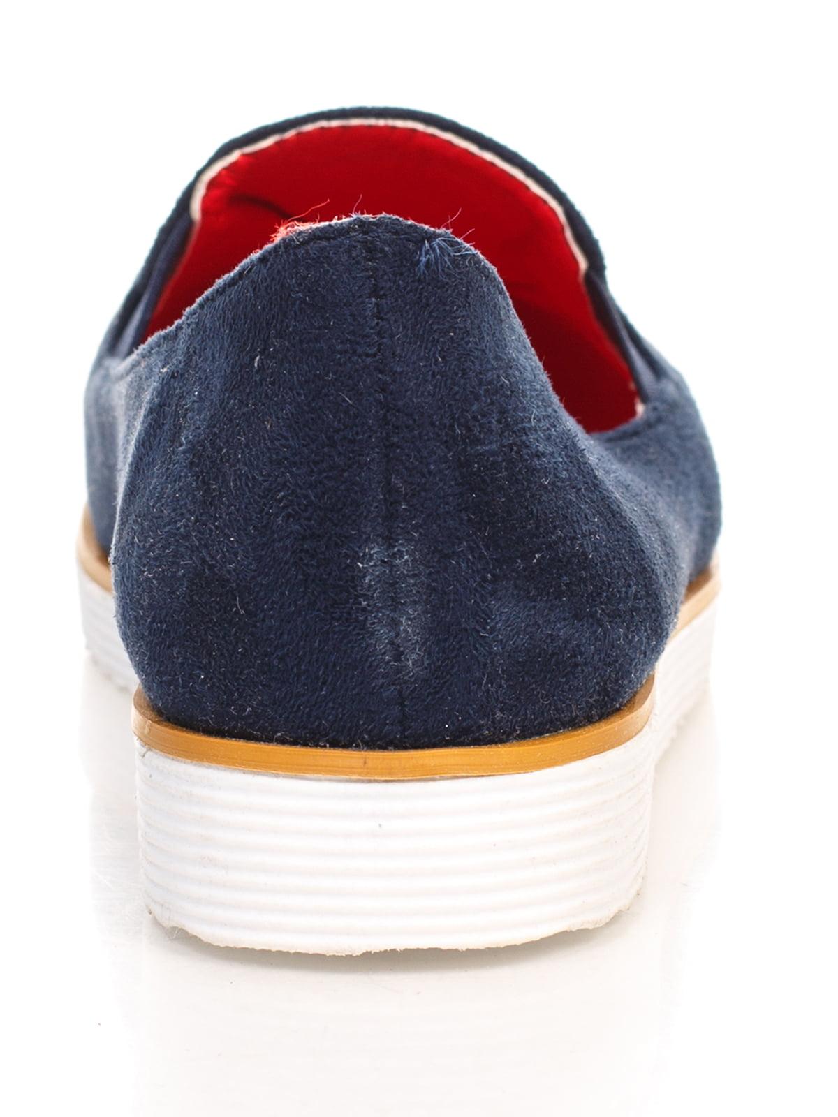 Туфли синие | 4605865 | фото 3