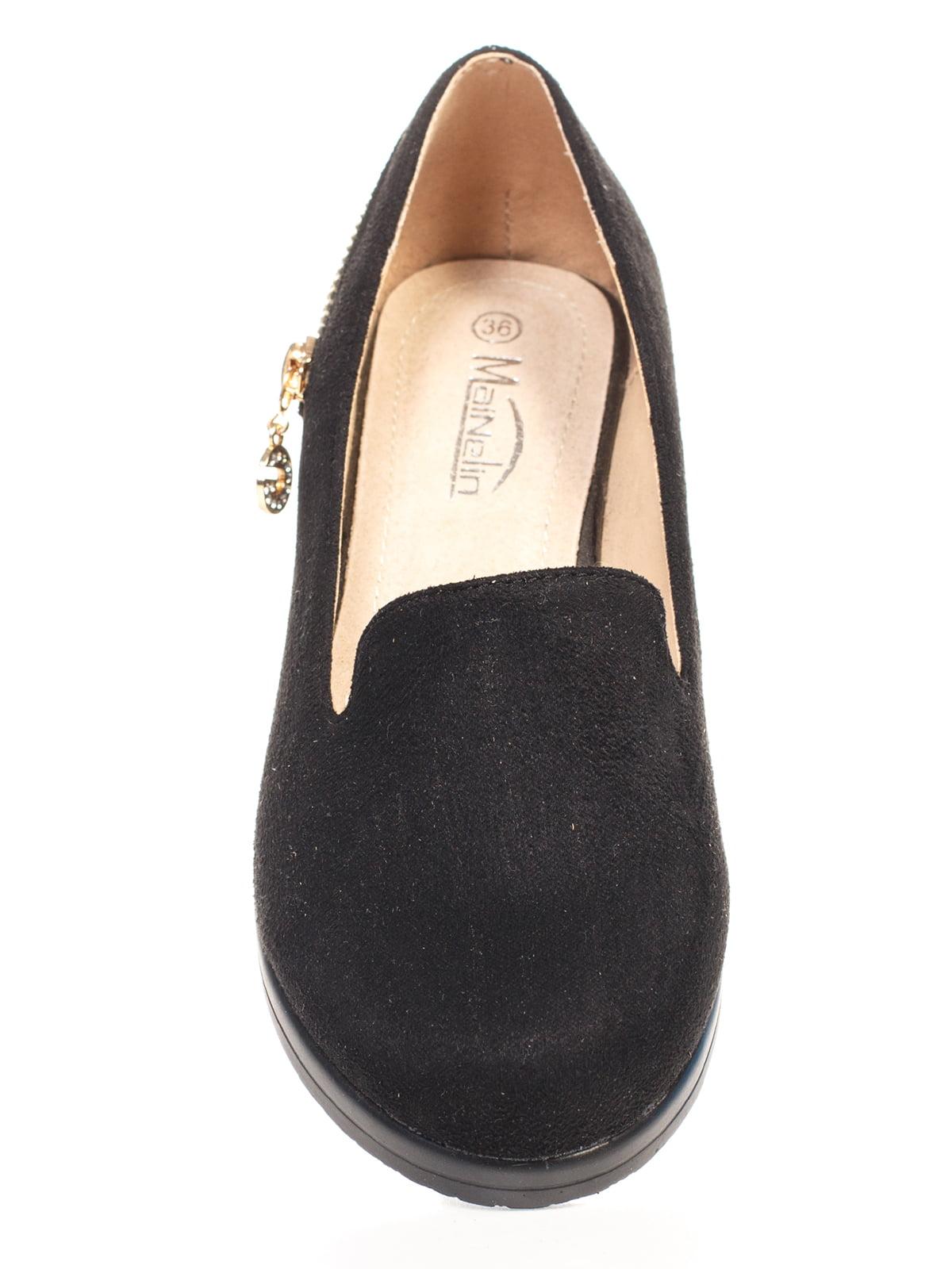 Туфли черные | 4605854 | фото 4