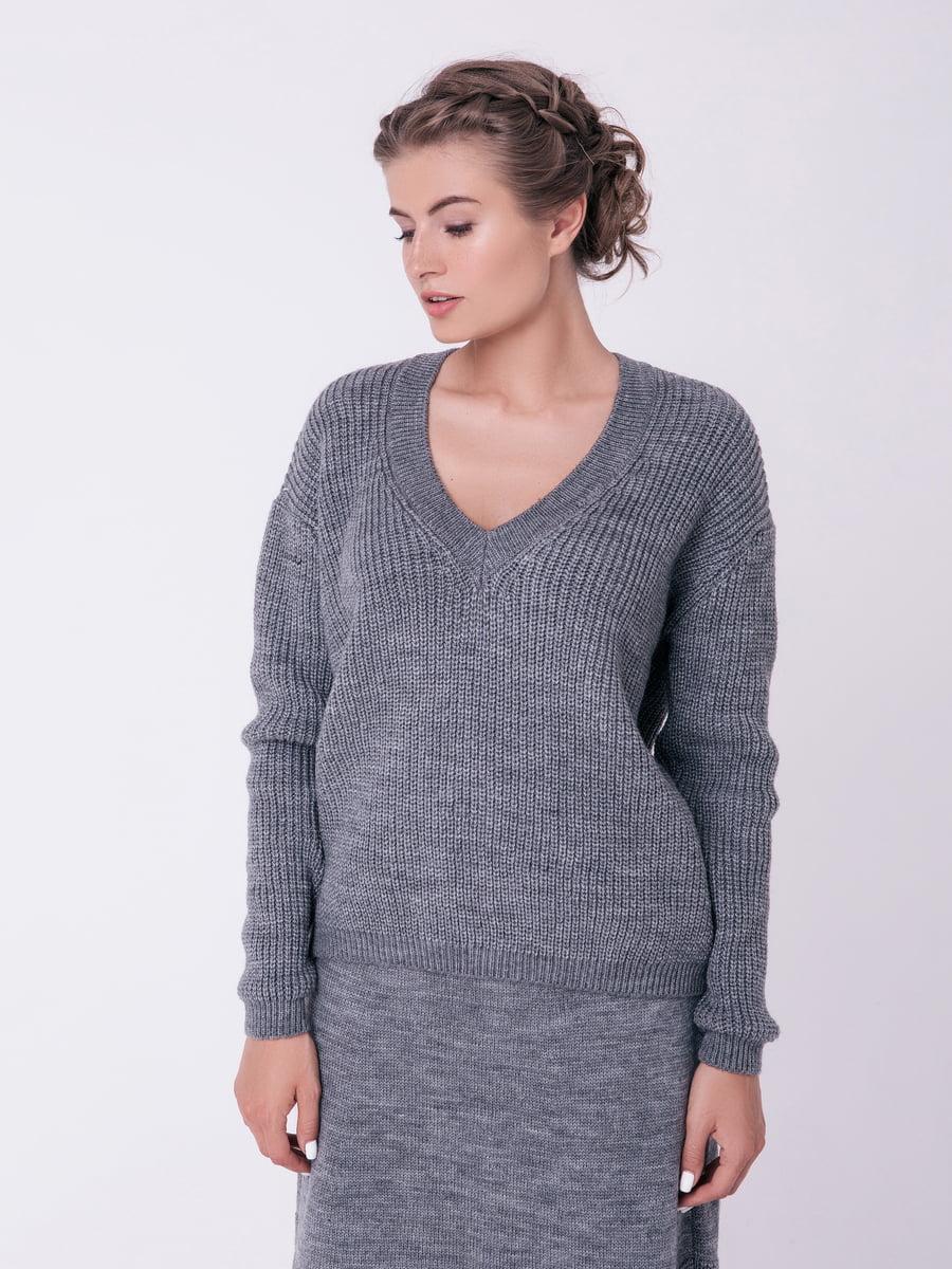 Пуловер сірий | 4519946