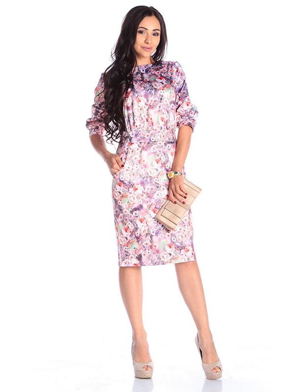 Платье в принт | 4599563