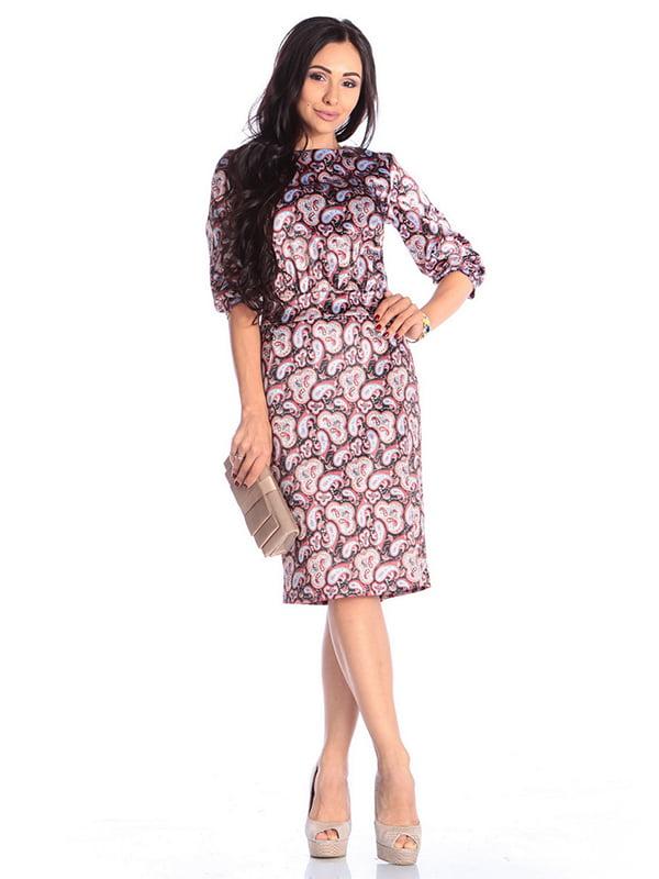 Платье в принт   4610397