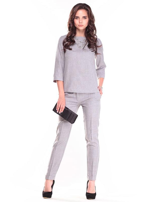 Костюм: блуза и брюки   4610423