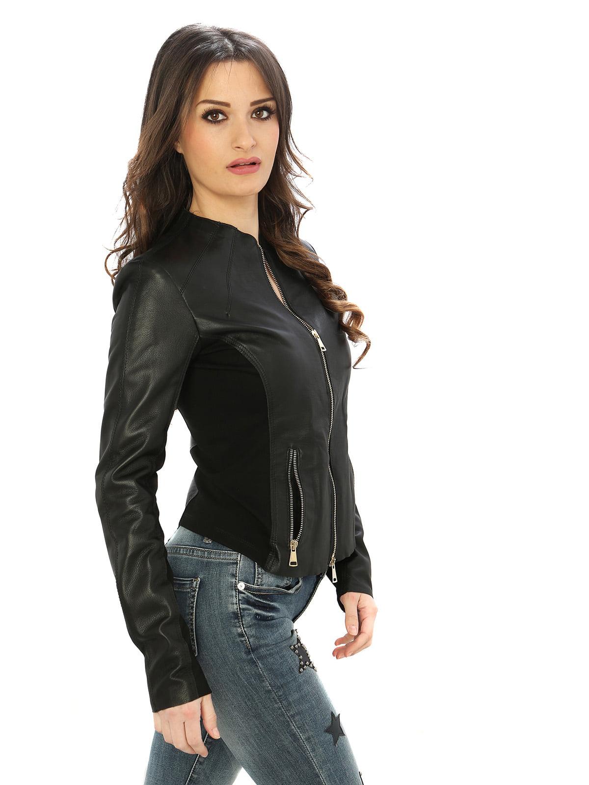 Куртка черная | 4606052 | фото 3