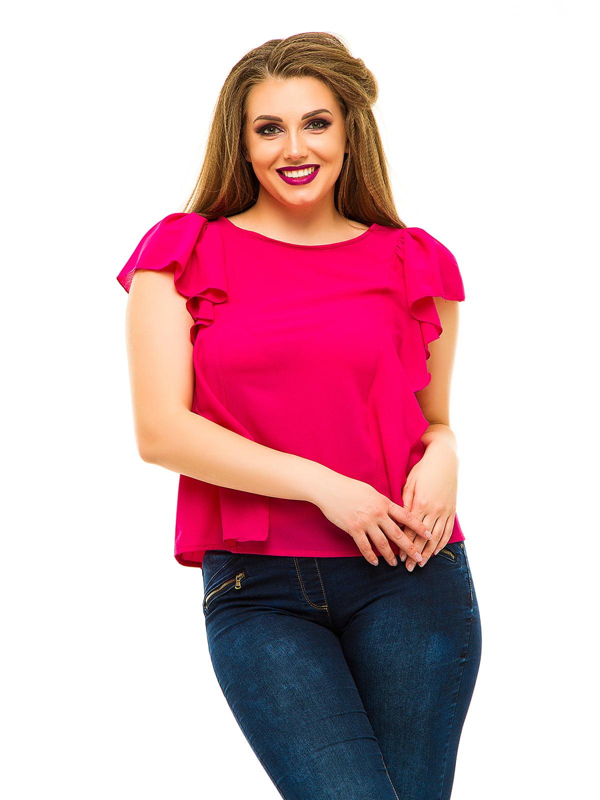 Блуза малинового цвета | 3315451