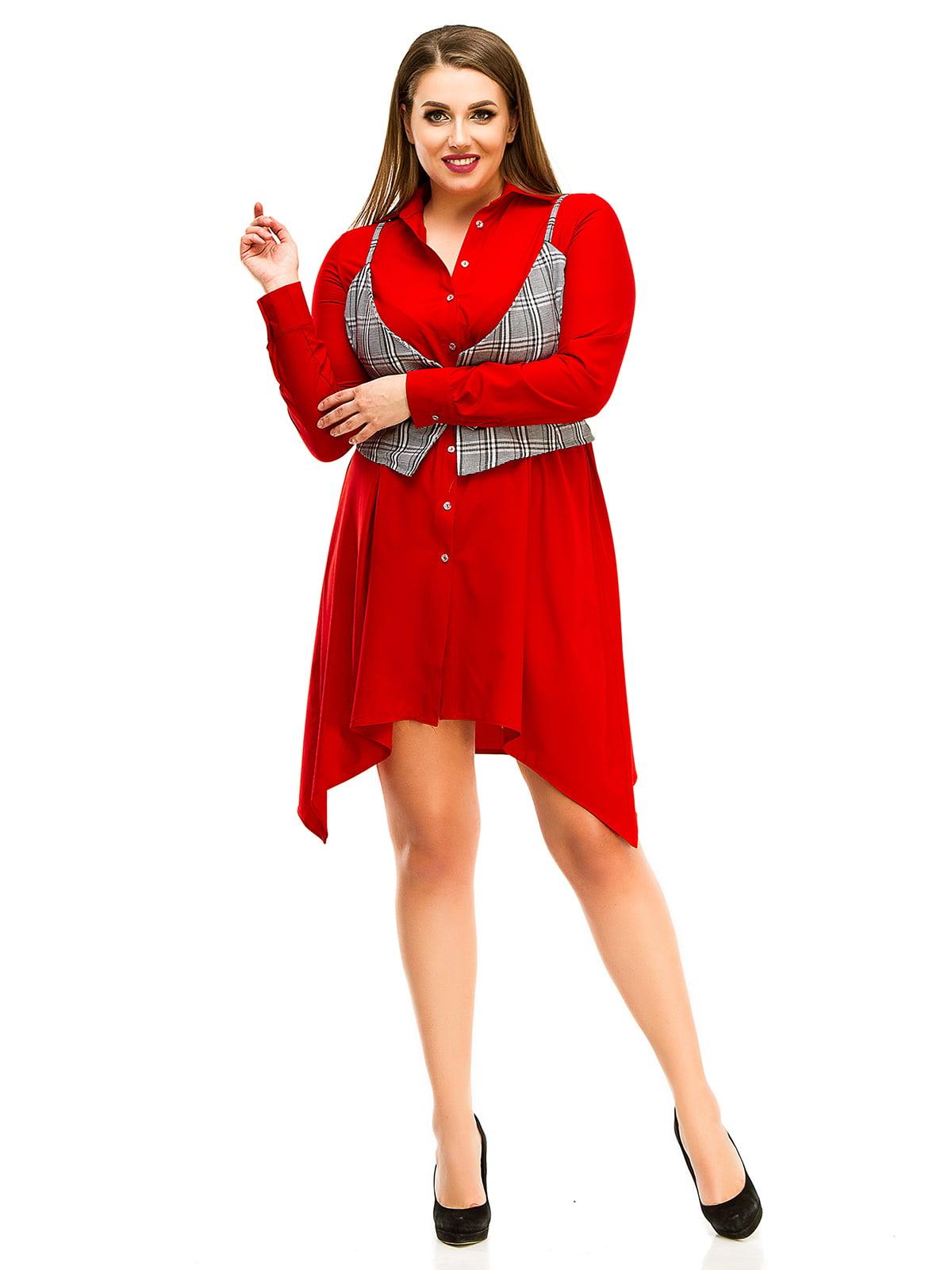 Платье красное | 4613976