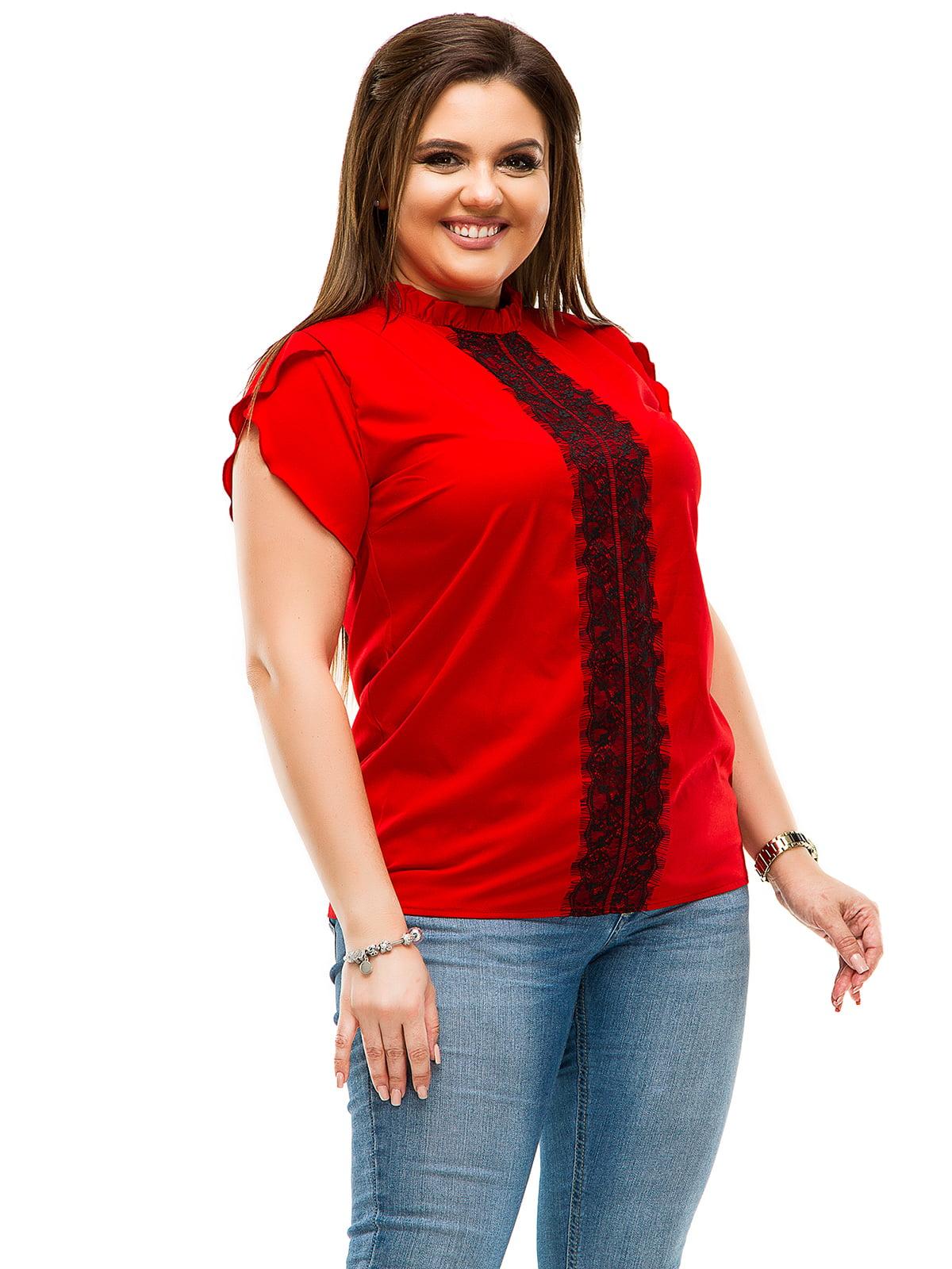 Блуза червона | 4614102