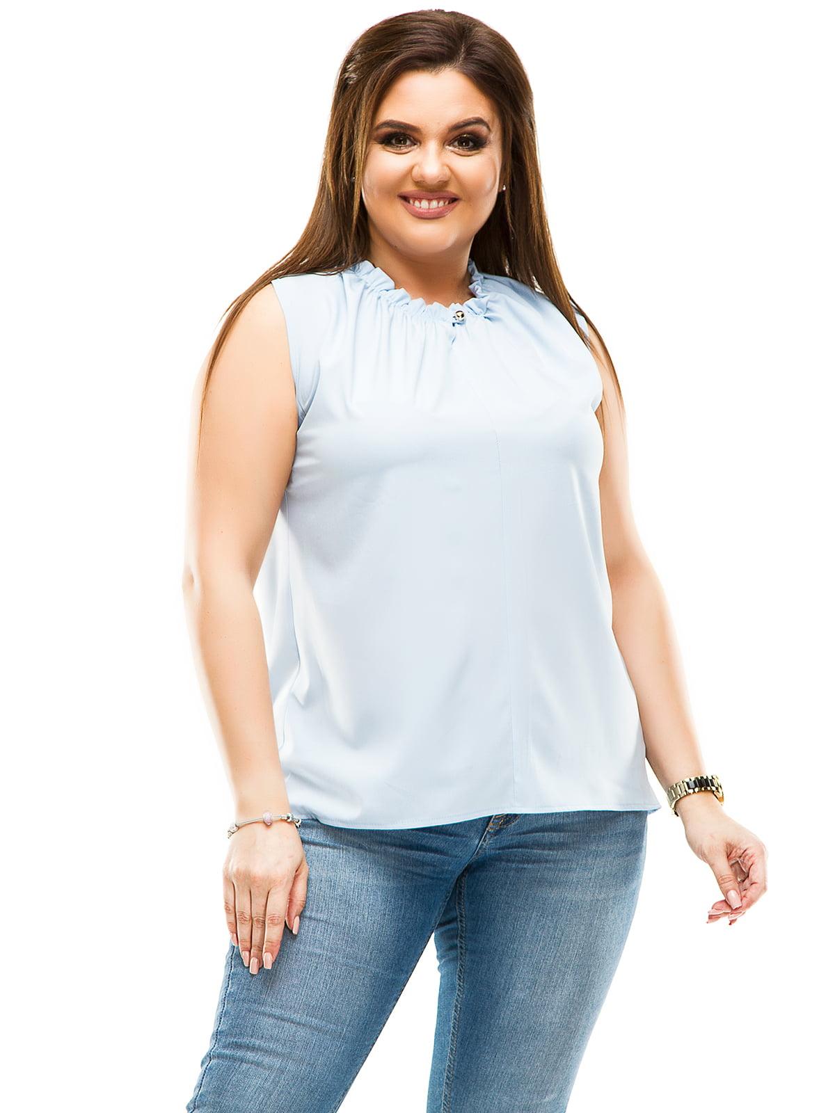 Блуза блакитна | 4614111