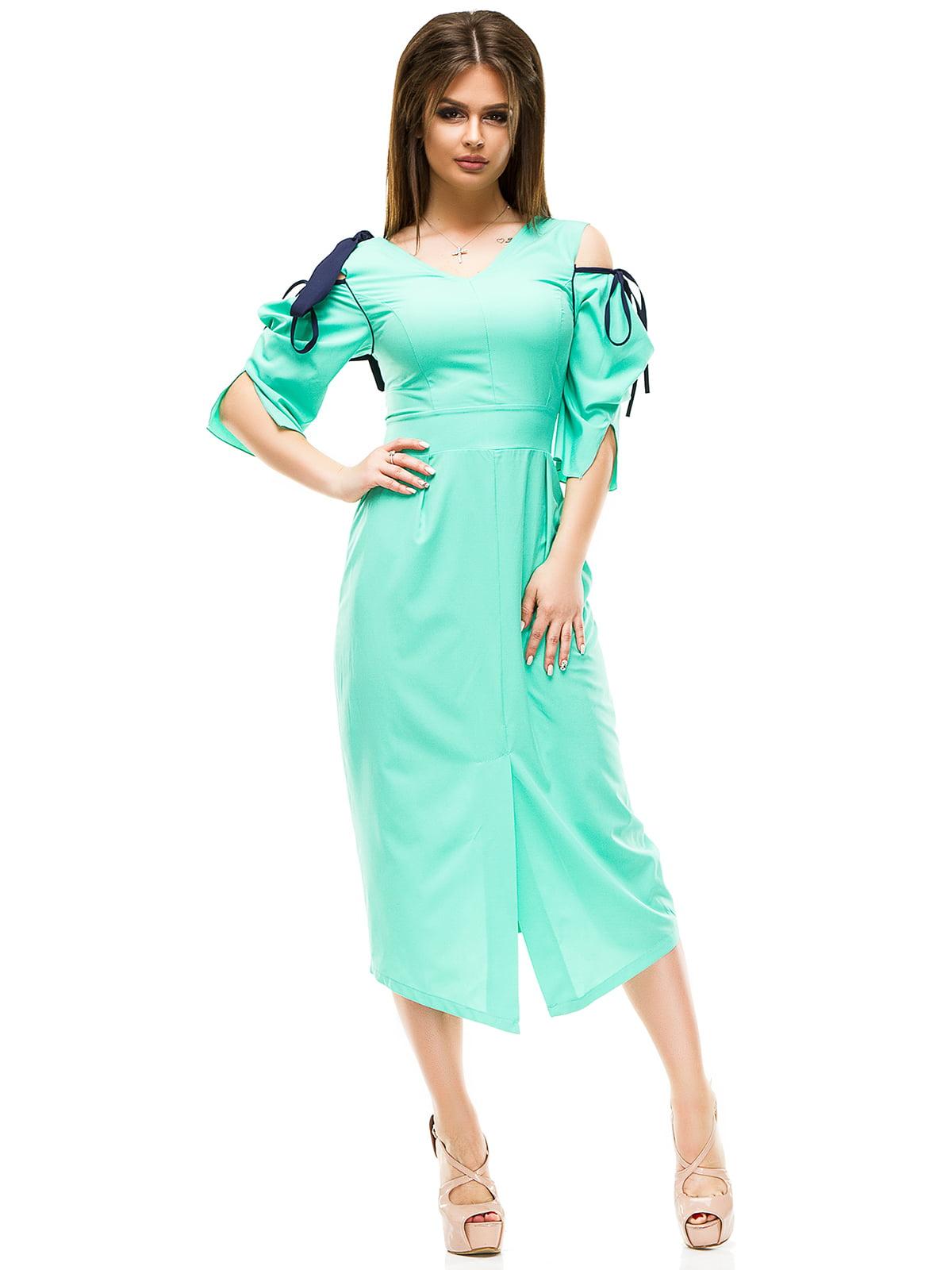 Сукня м'ятного кольору | 4613495