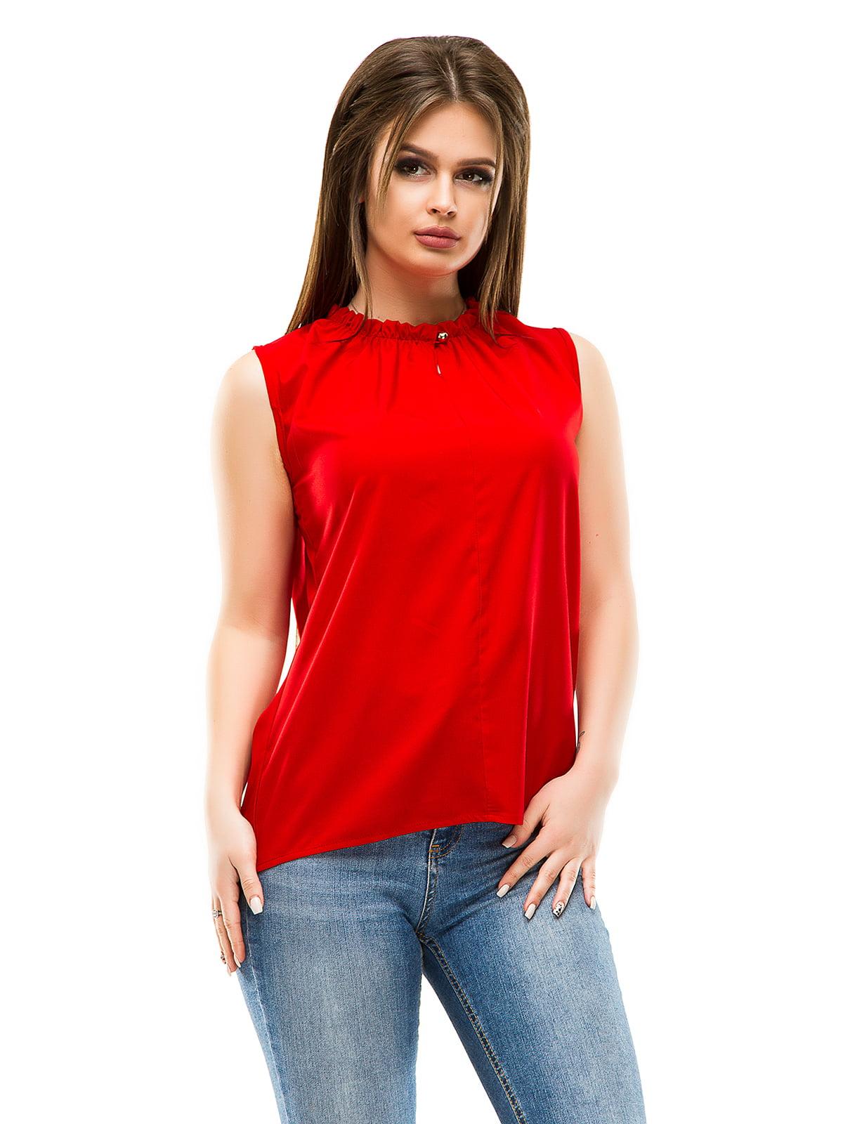 Блуза червона | 4613520
