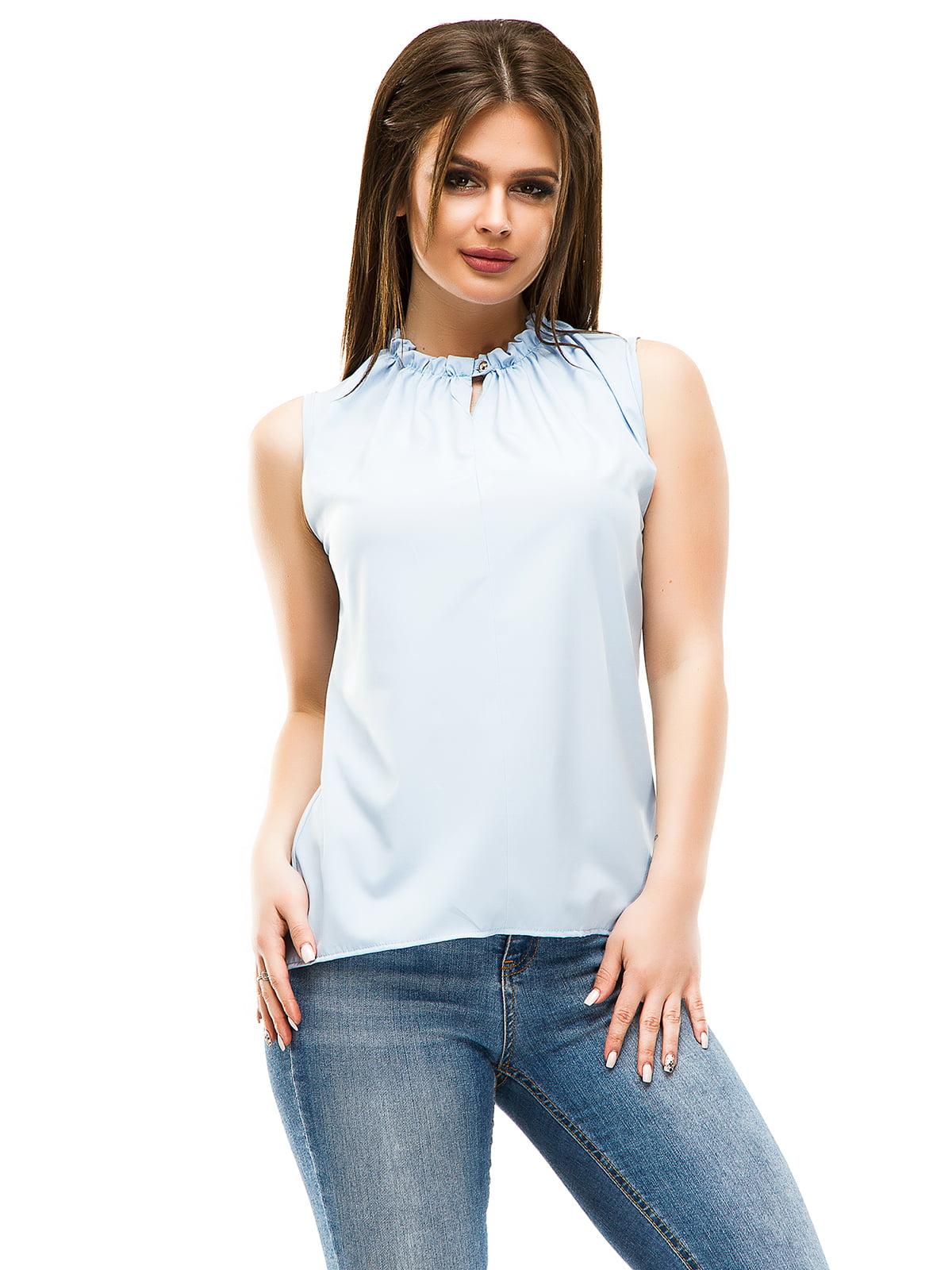Блуза блакитна | 4613521