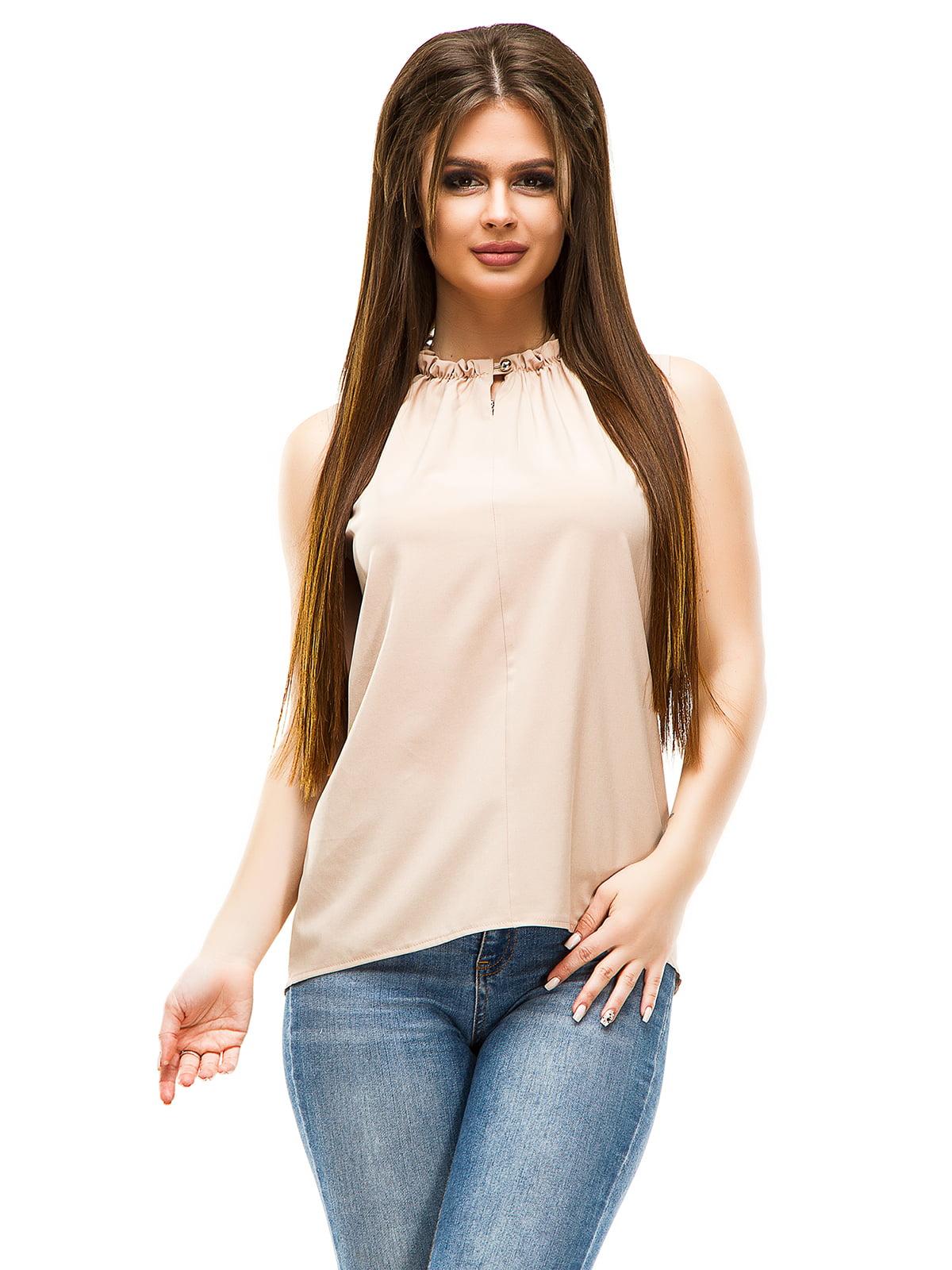Блуза бежевая   4613522