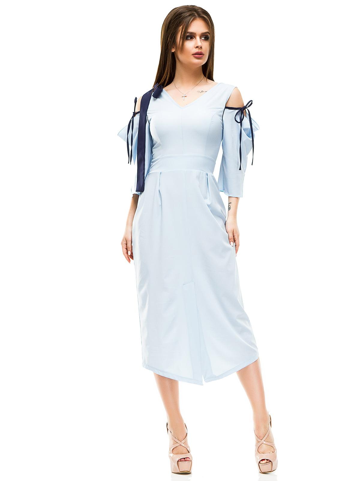 Сукня блакитна   4613527