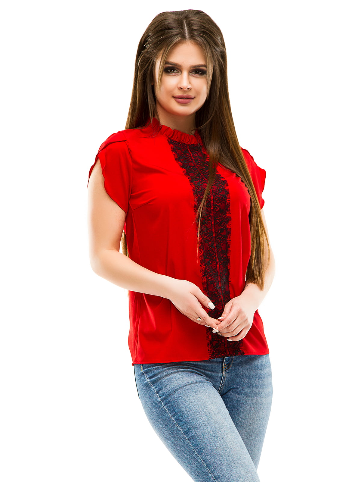 Блуза червона   4613530