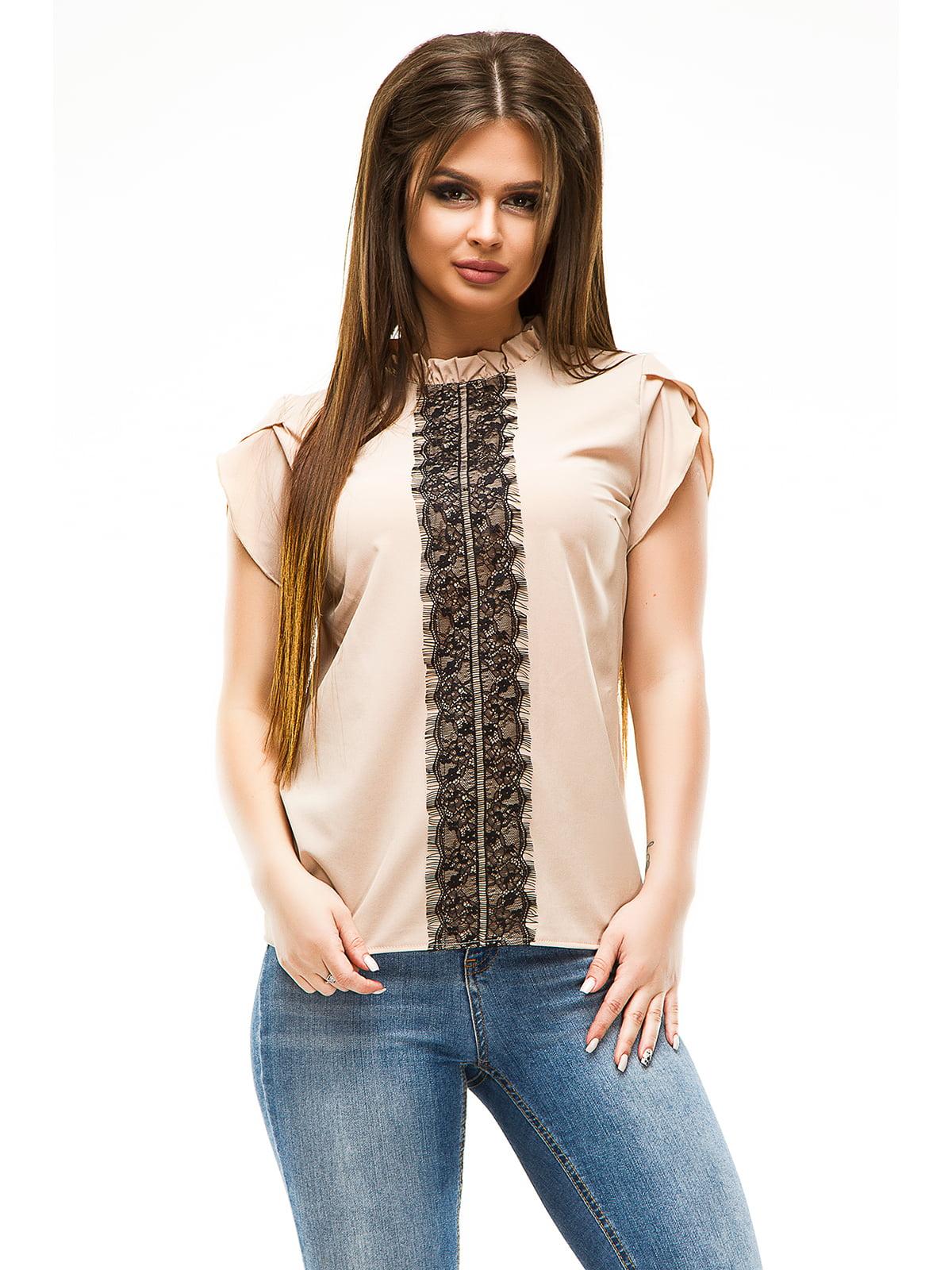Блуза бежева   4613532