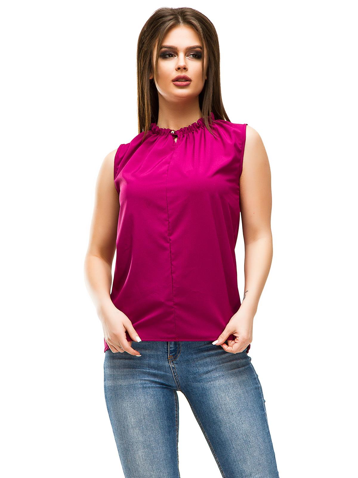 Блуза кольору фуксії | 4613705