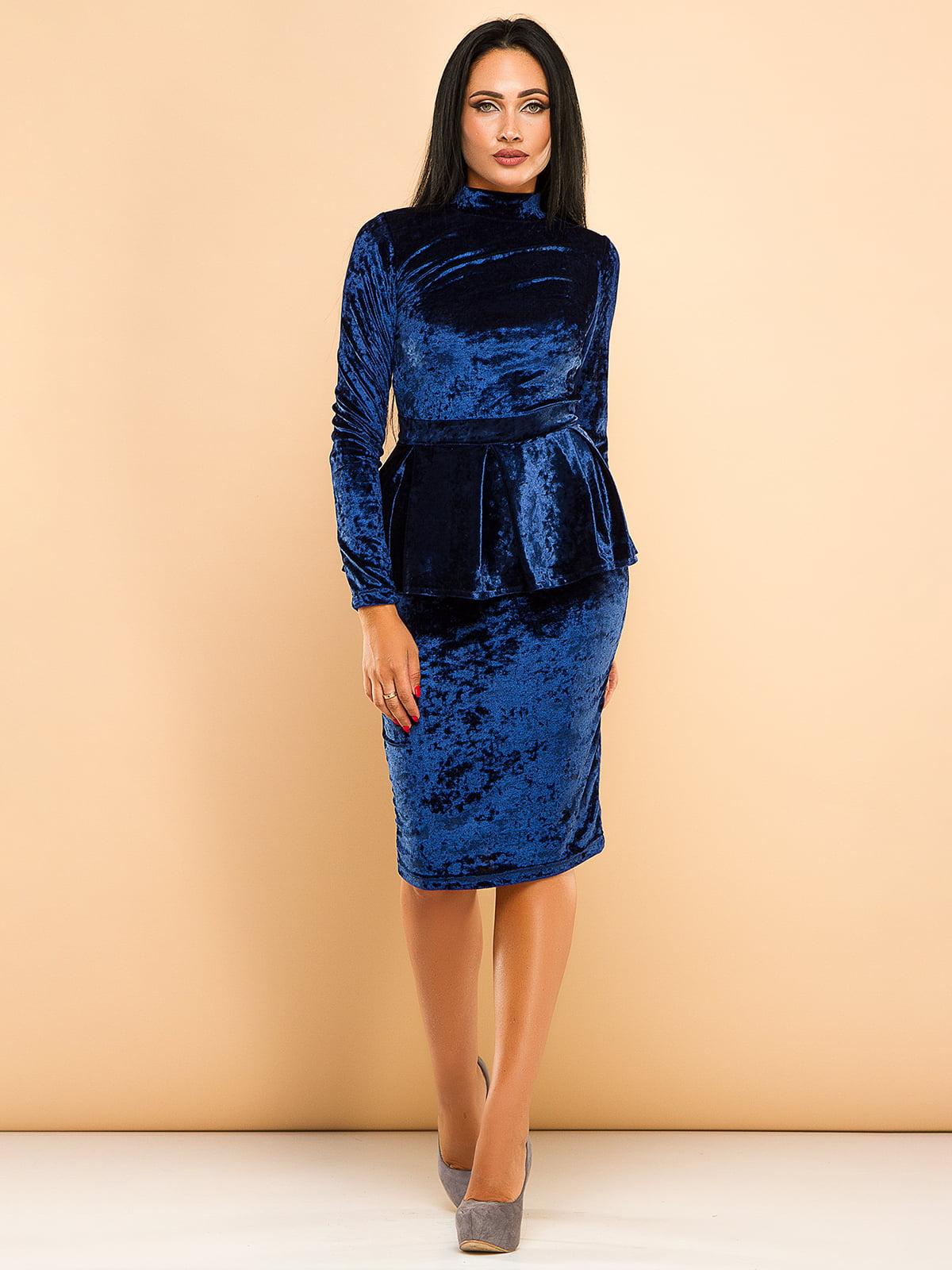 Сукня синя | 4613748