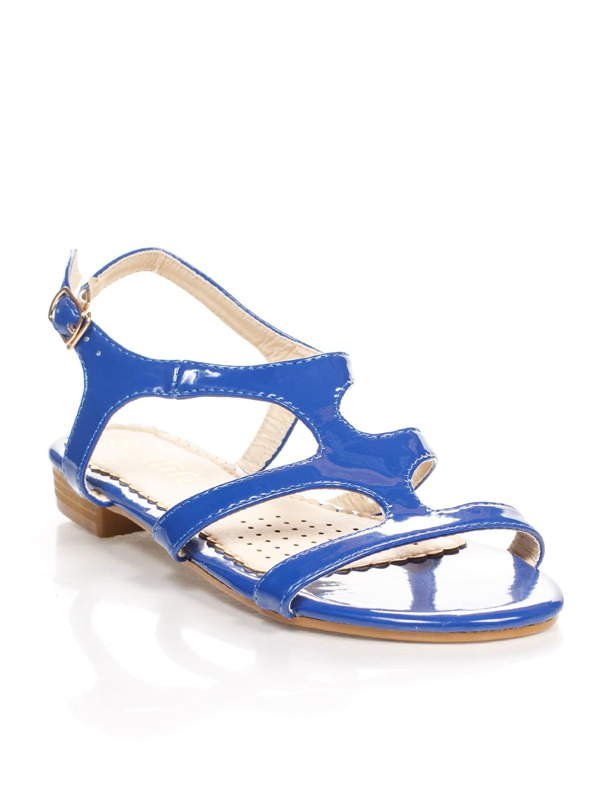 Сандалии синие | 4605211