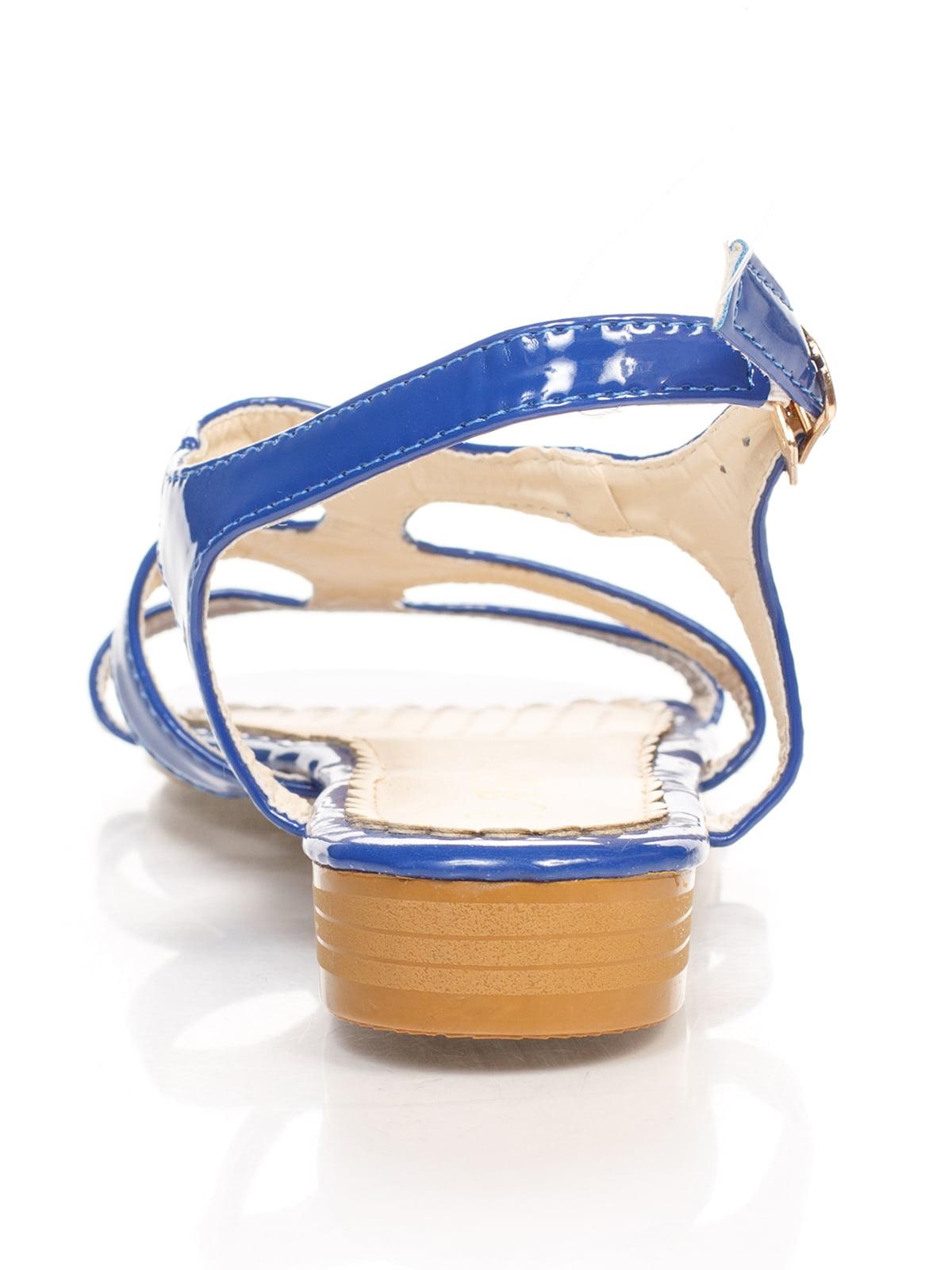 Сандалии синие | 4605211 | фото 3