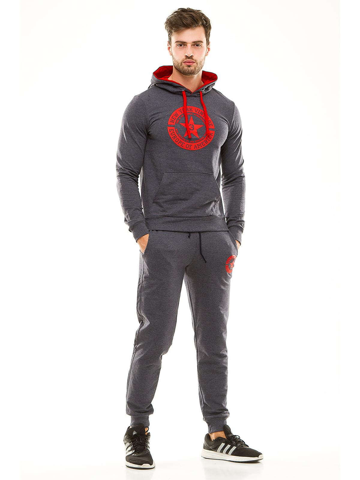 Костюм спортивный: худи и брюки | 4614696
