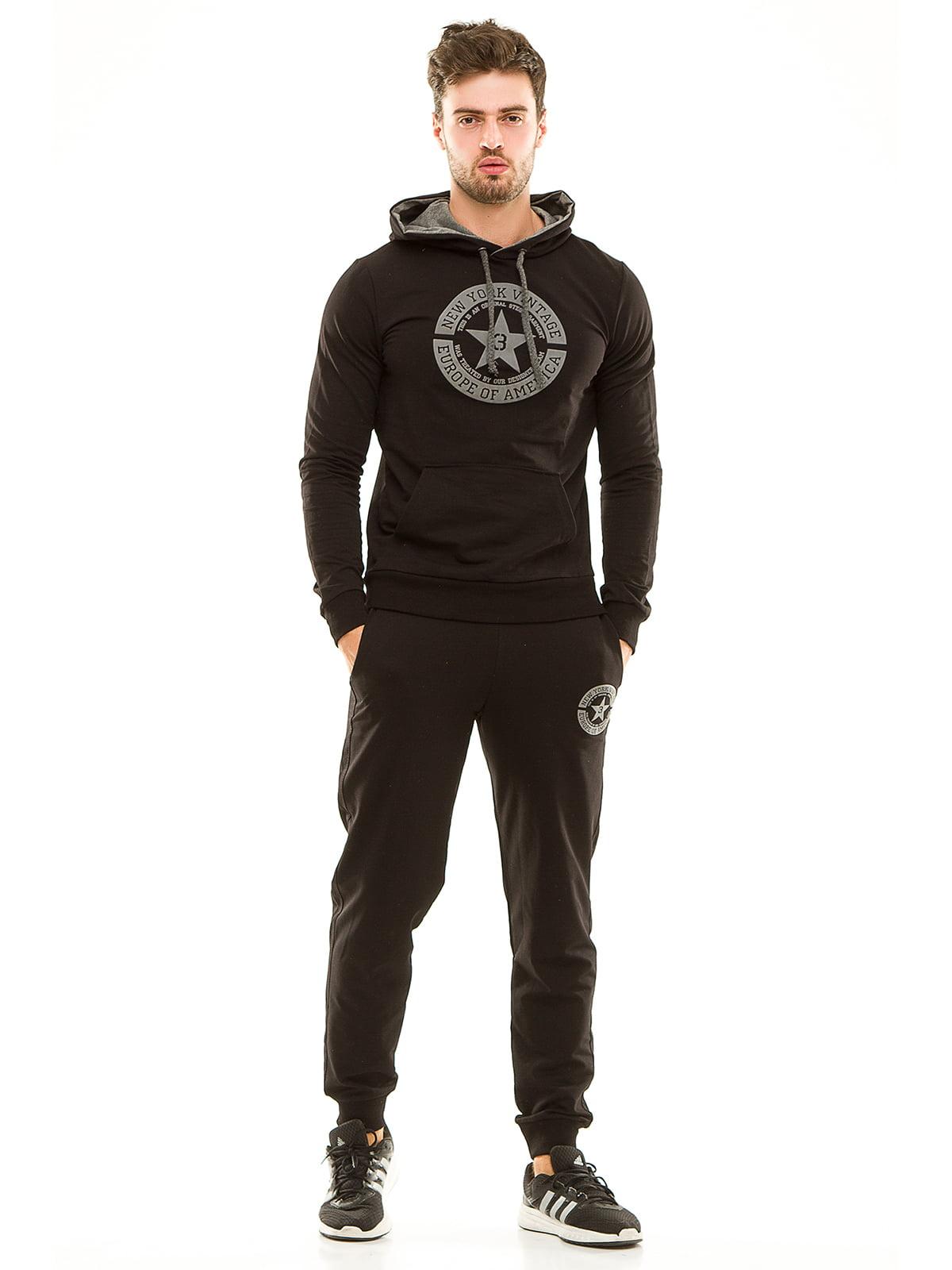 Костюм спортивный: худи и брюки | 4614698