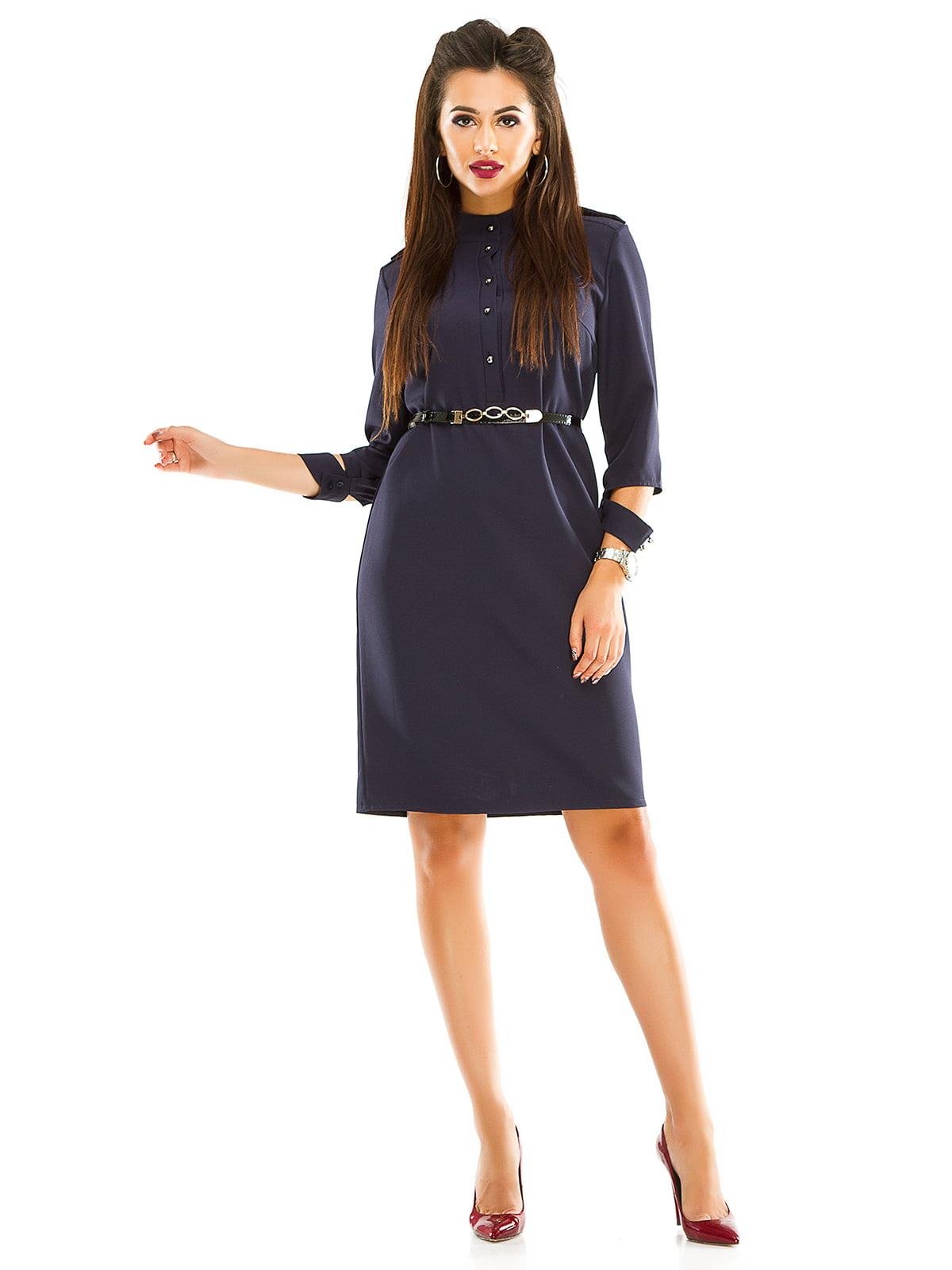 Сукня темно-синя   4614717