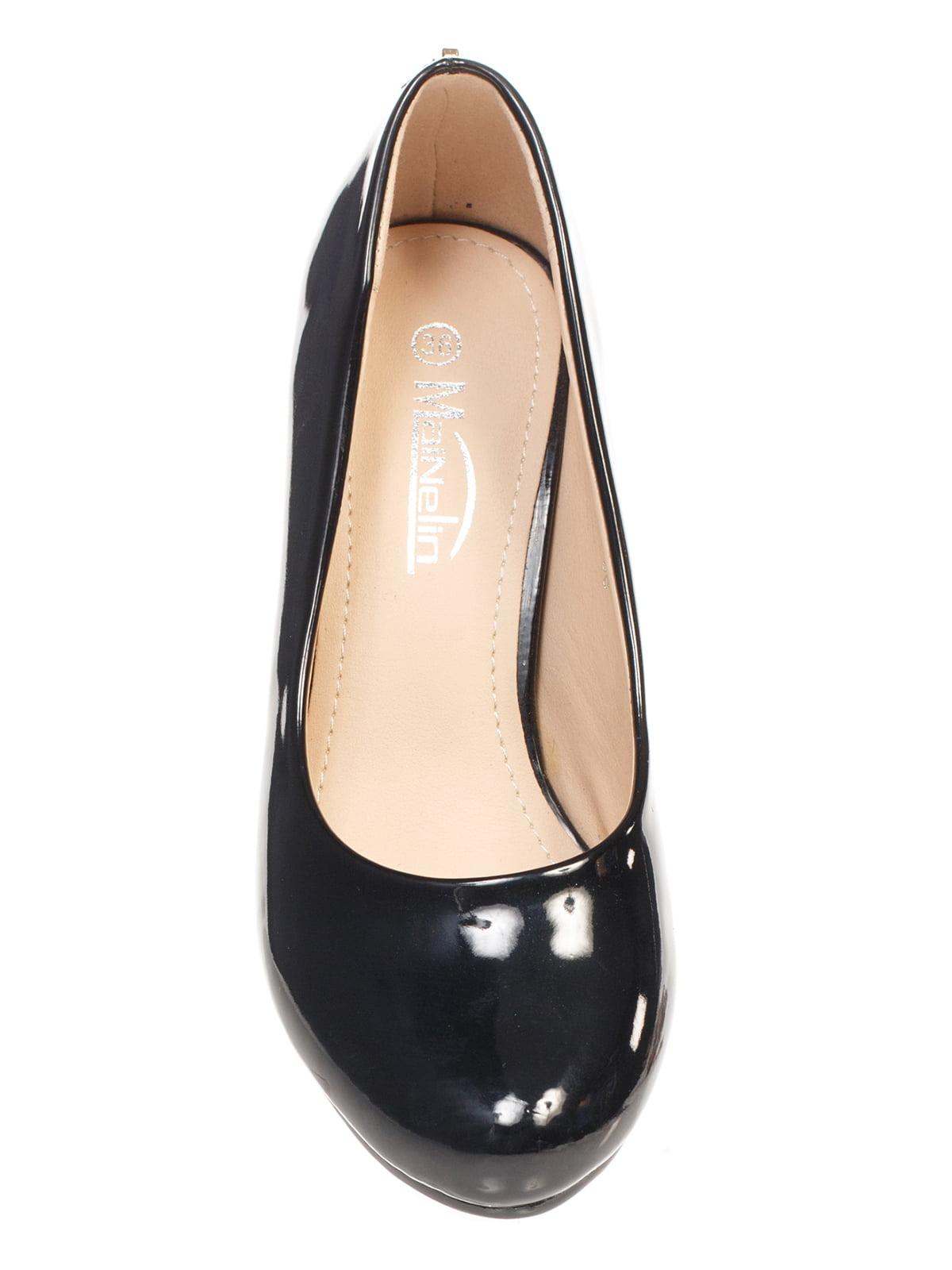 Туфли черные | 4605869 | фото 4