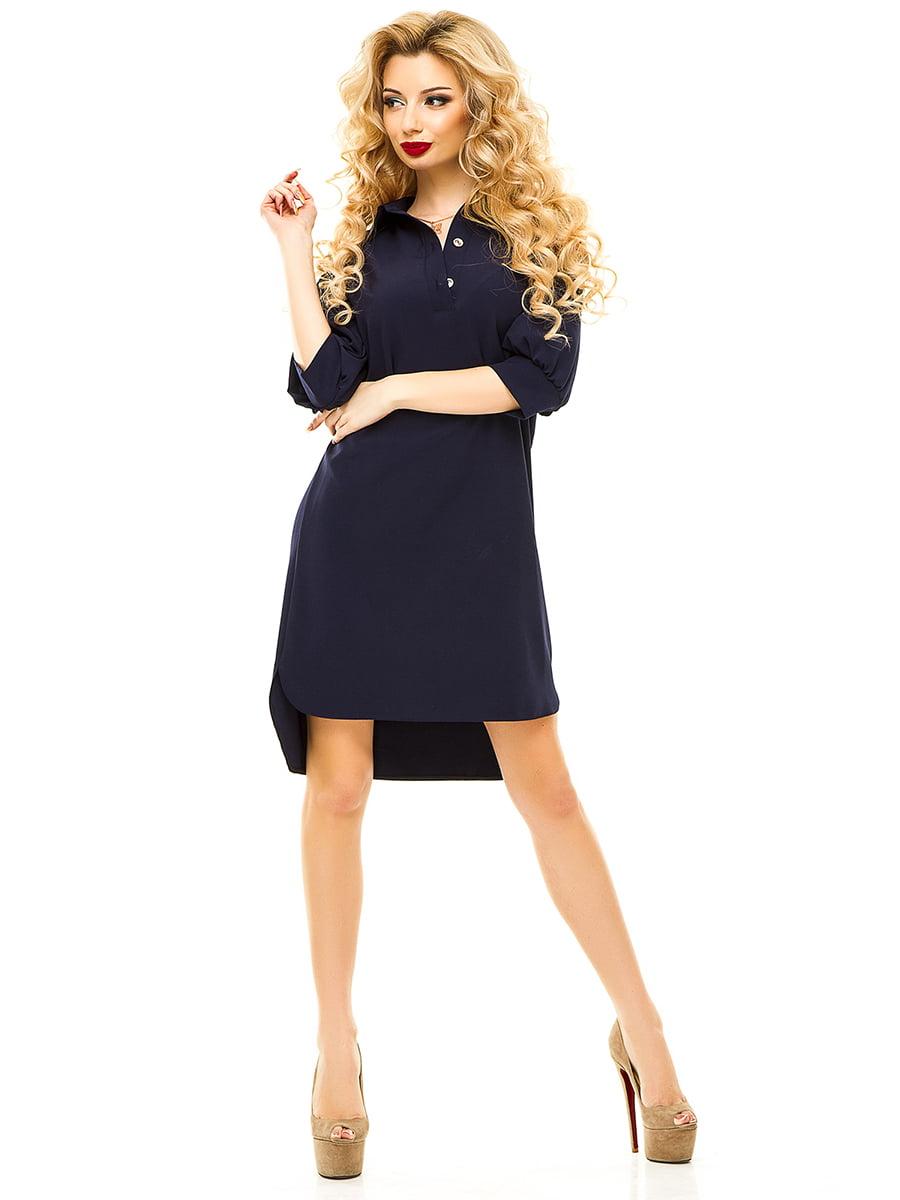 Платье темно-синее   4615560