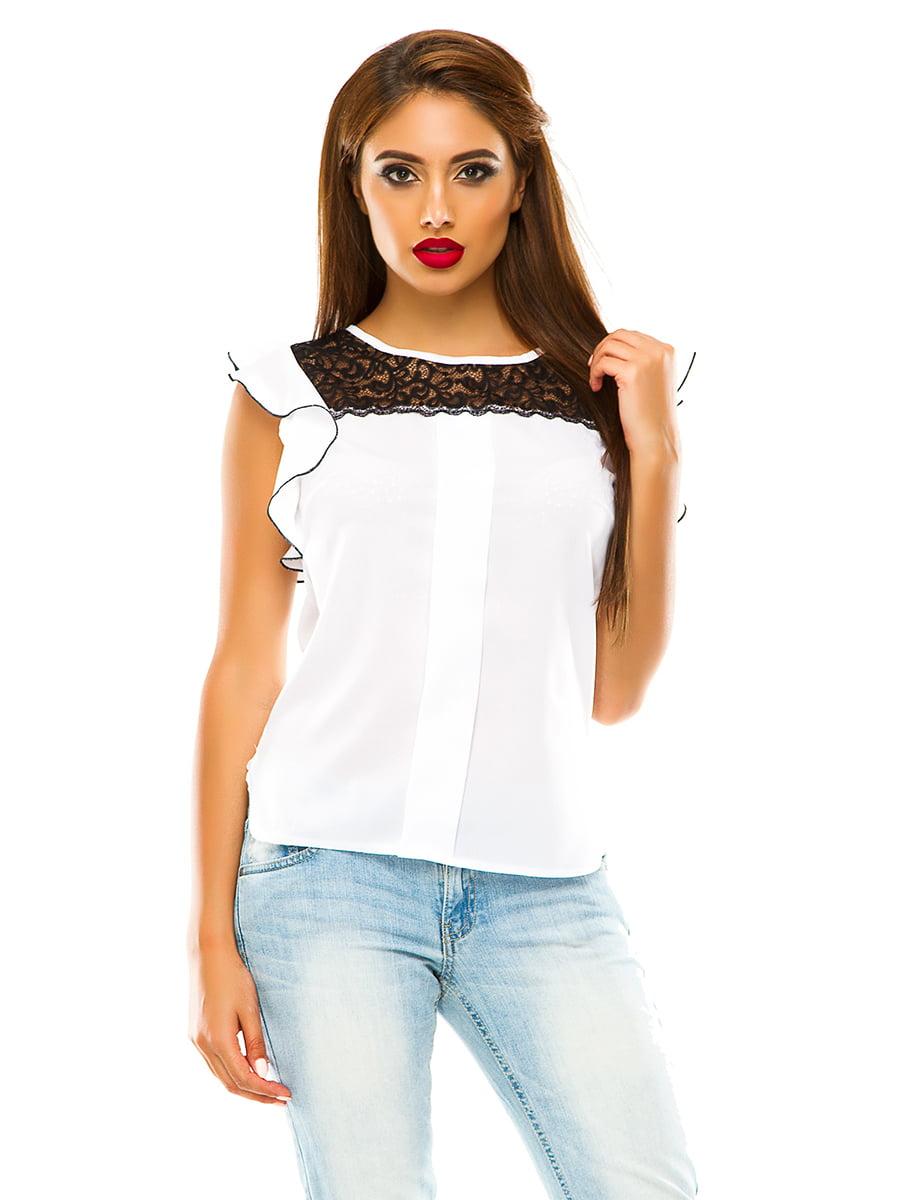 Блуза біла | 4615689