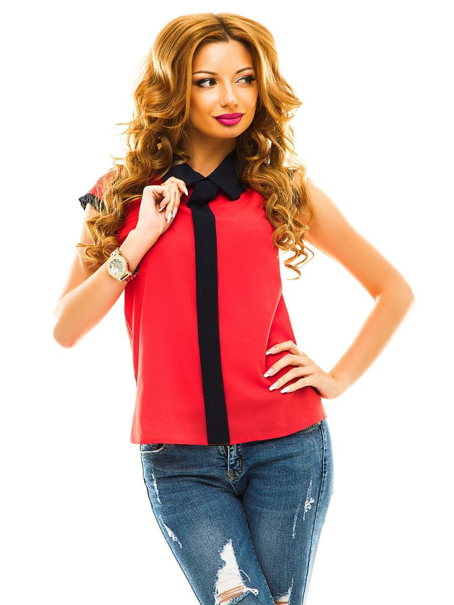 Блуза червона | 4615771