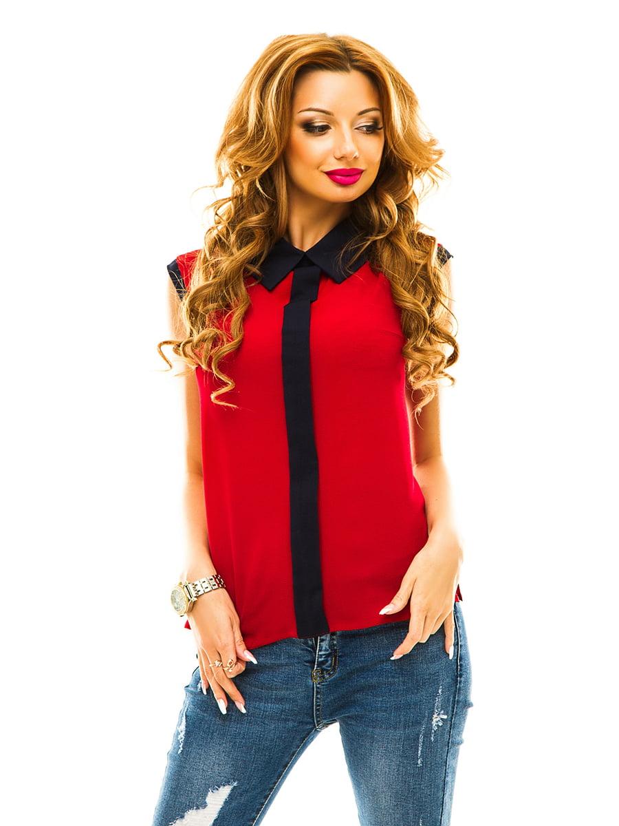 Блуза бордова   4615783