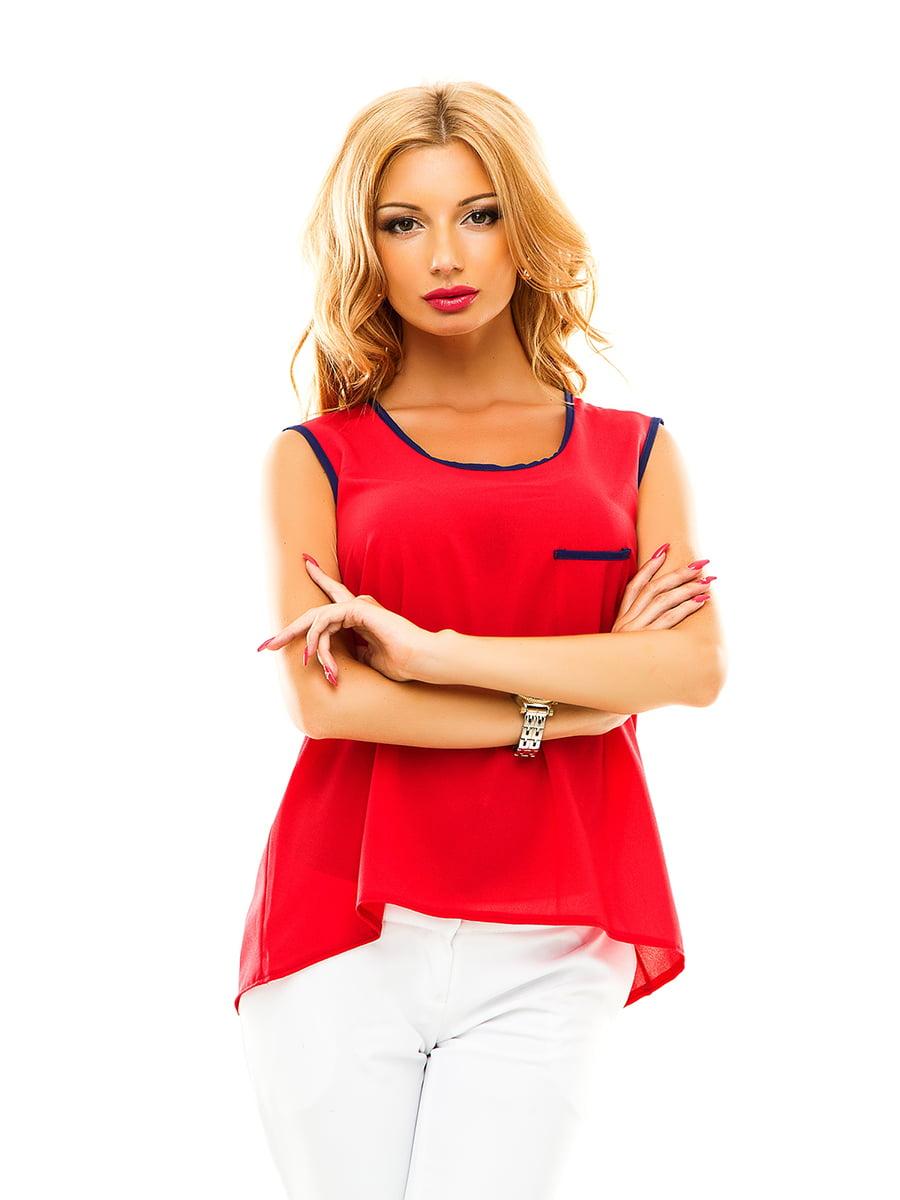 Блуза червона | 4615879