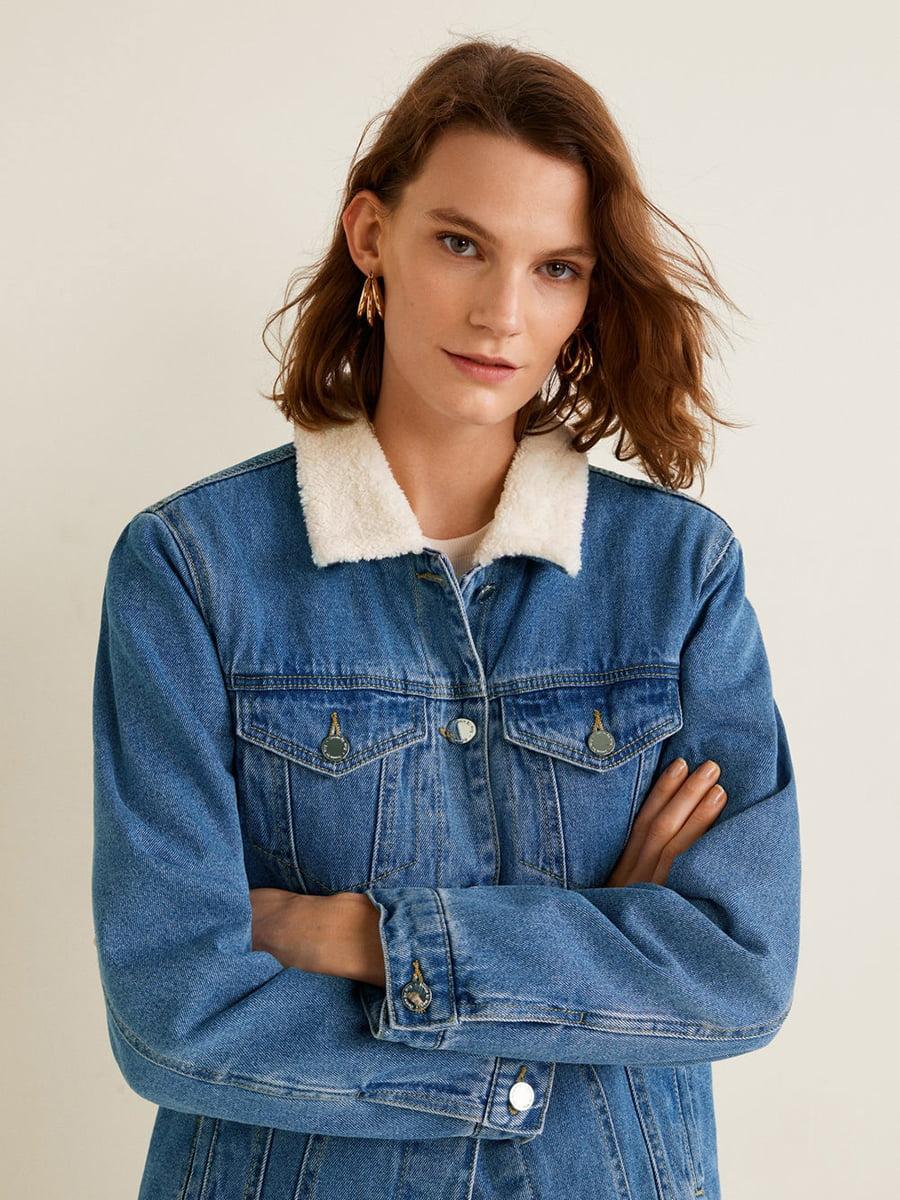 Куртка синя | 4549124 | фото 4