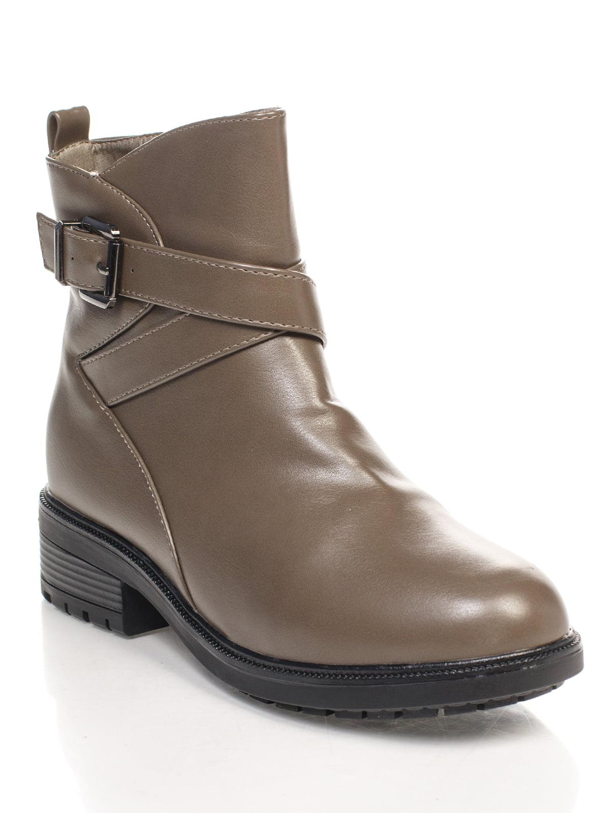 Ботинки серые   4605361