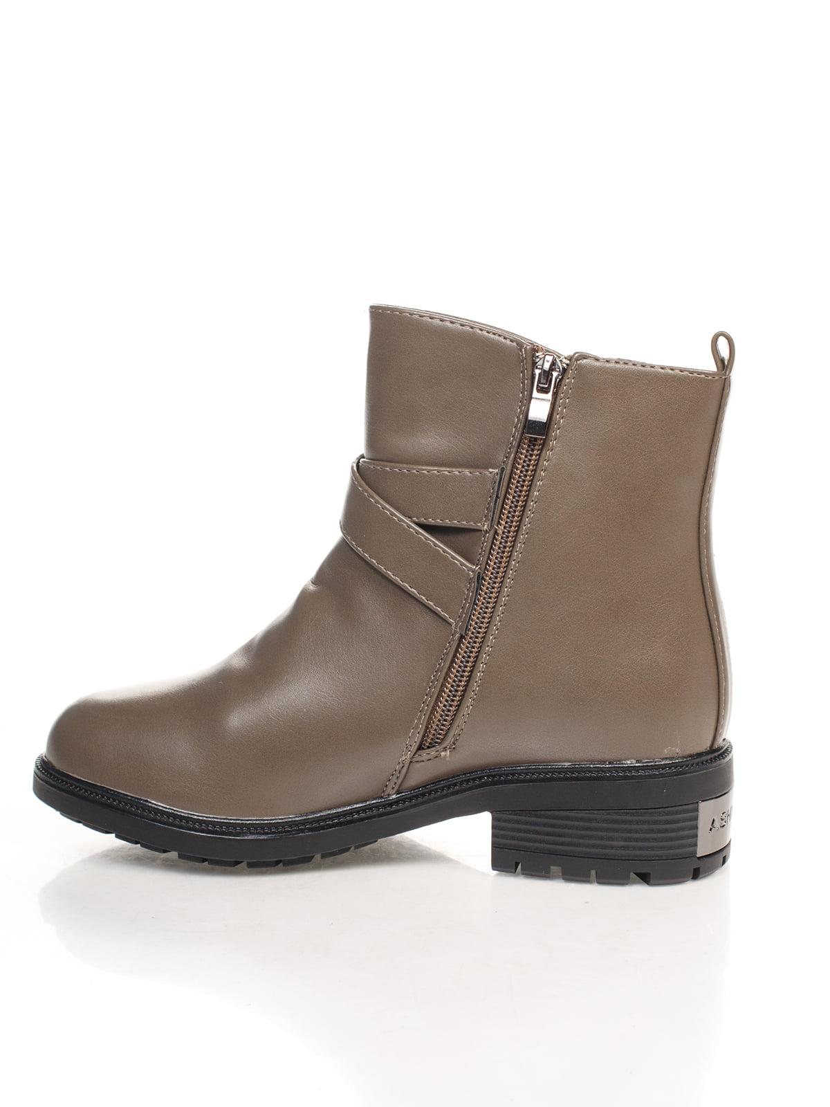 Ботинки серые   4605361   фото 2