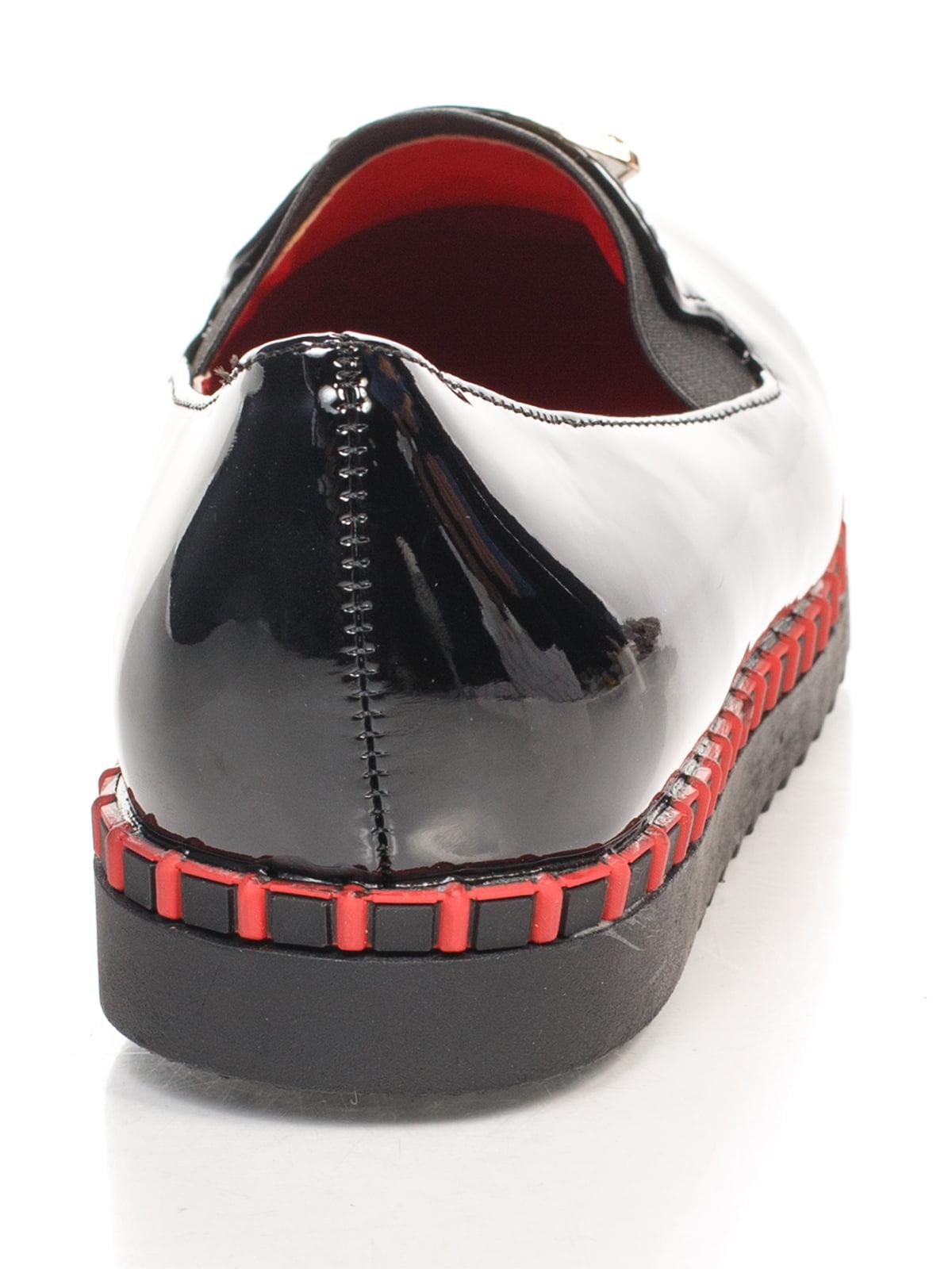 Туфли черные с декором   4605861   фото 3