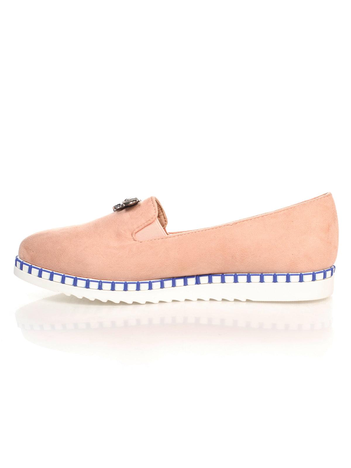 Туфли розовые с декором | 4605862 | фото 2